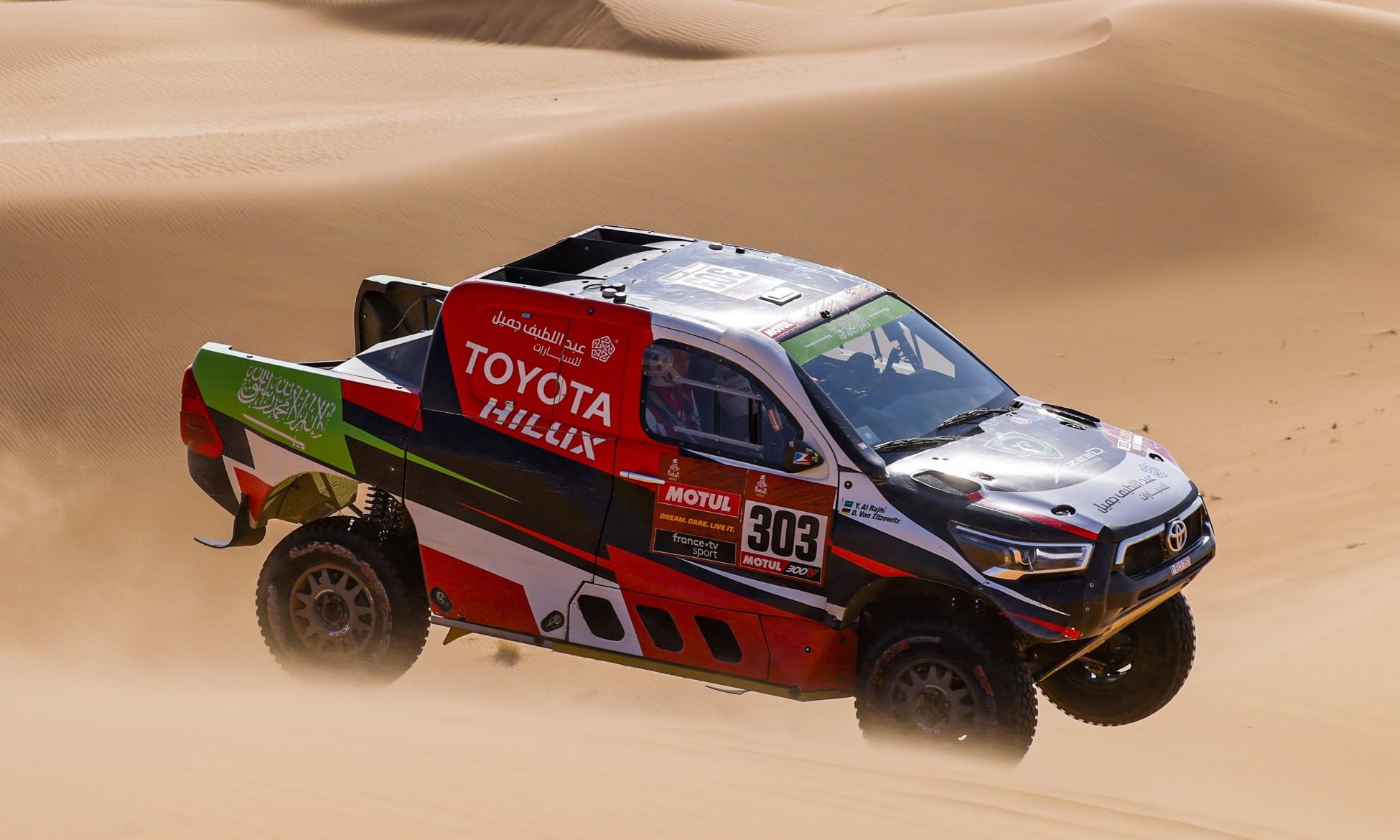 Yazeed Al-Rajhi won 2021 Dakar Stage 7 (Image F.Le Floch DPPI)