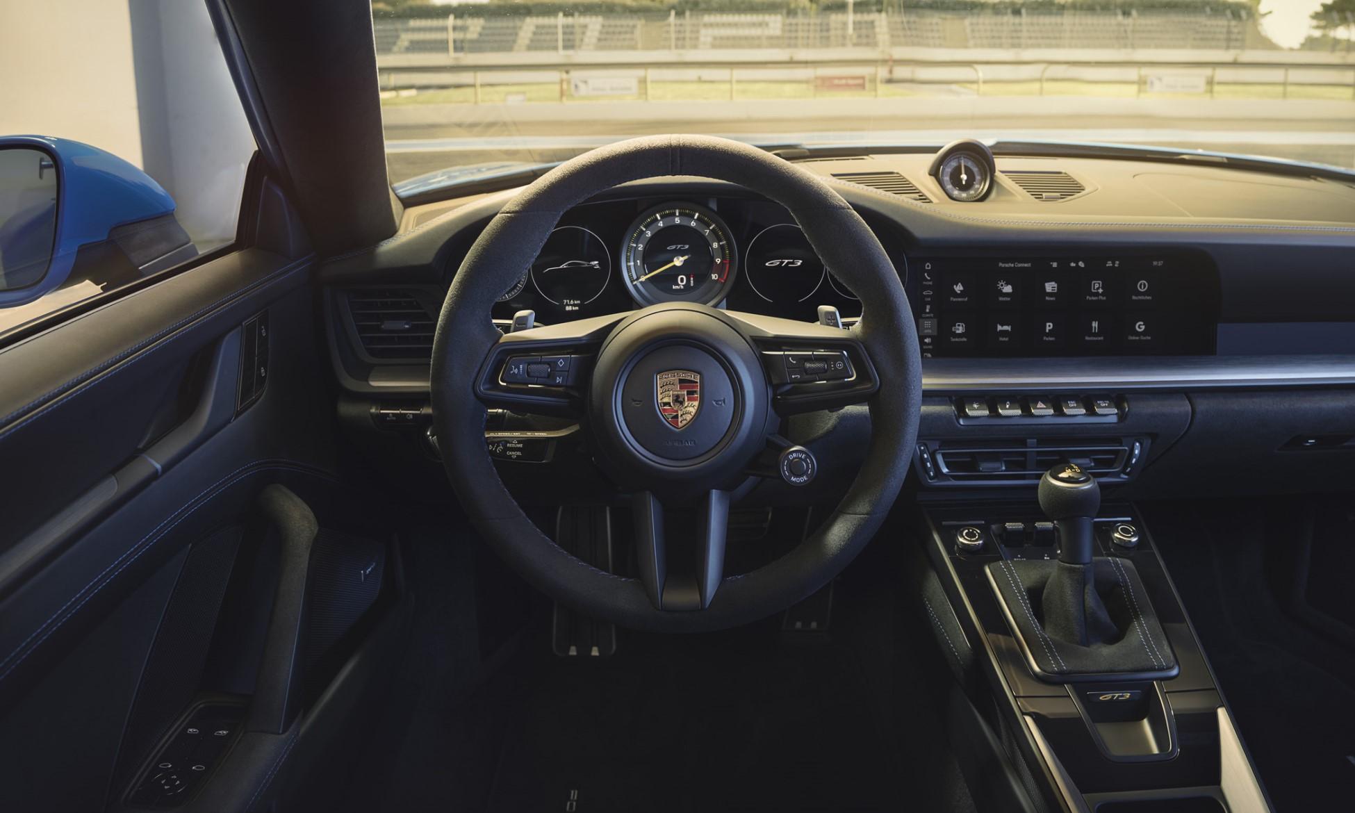 992 Porsche GT3 interior