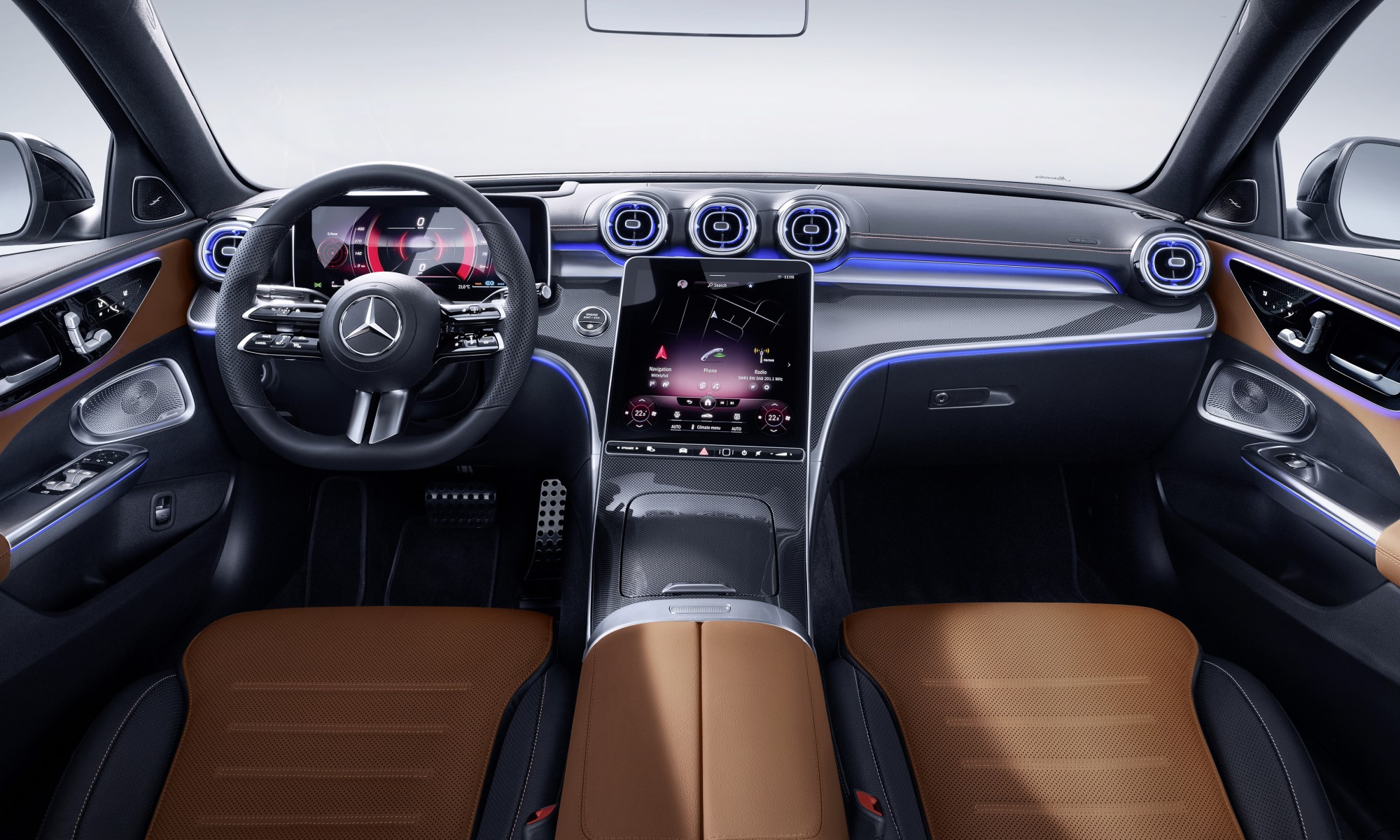 All-new Mercedes-Benz C-Class cabin