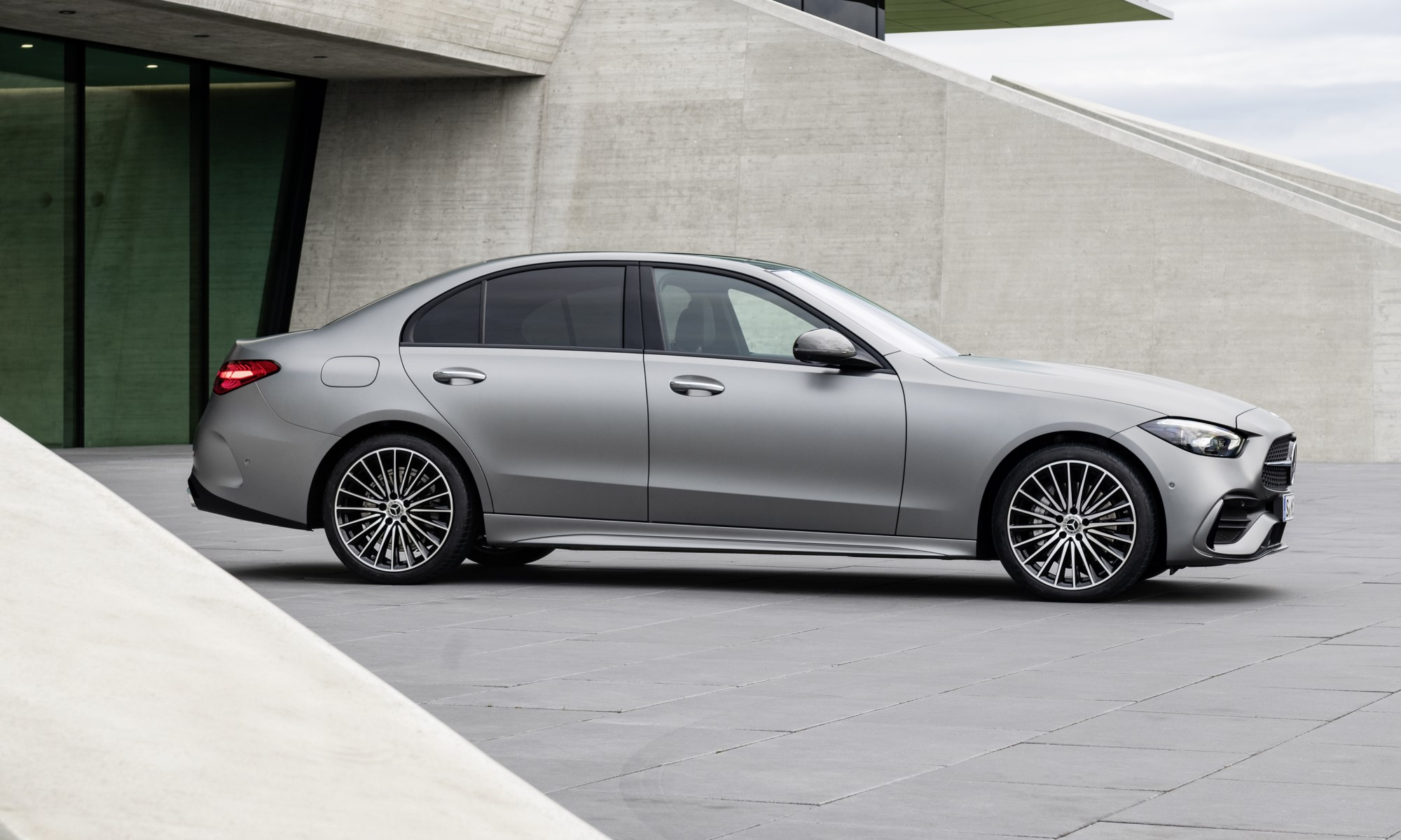 All-new Mercedes-Benz C-Class side