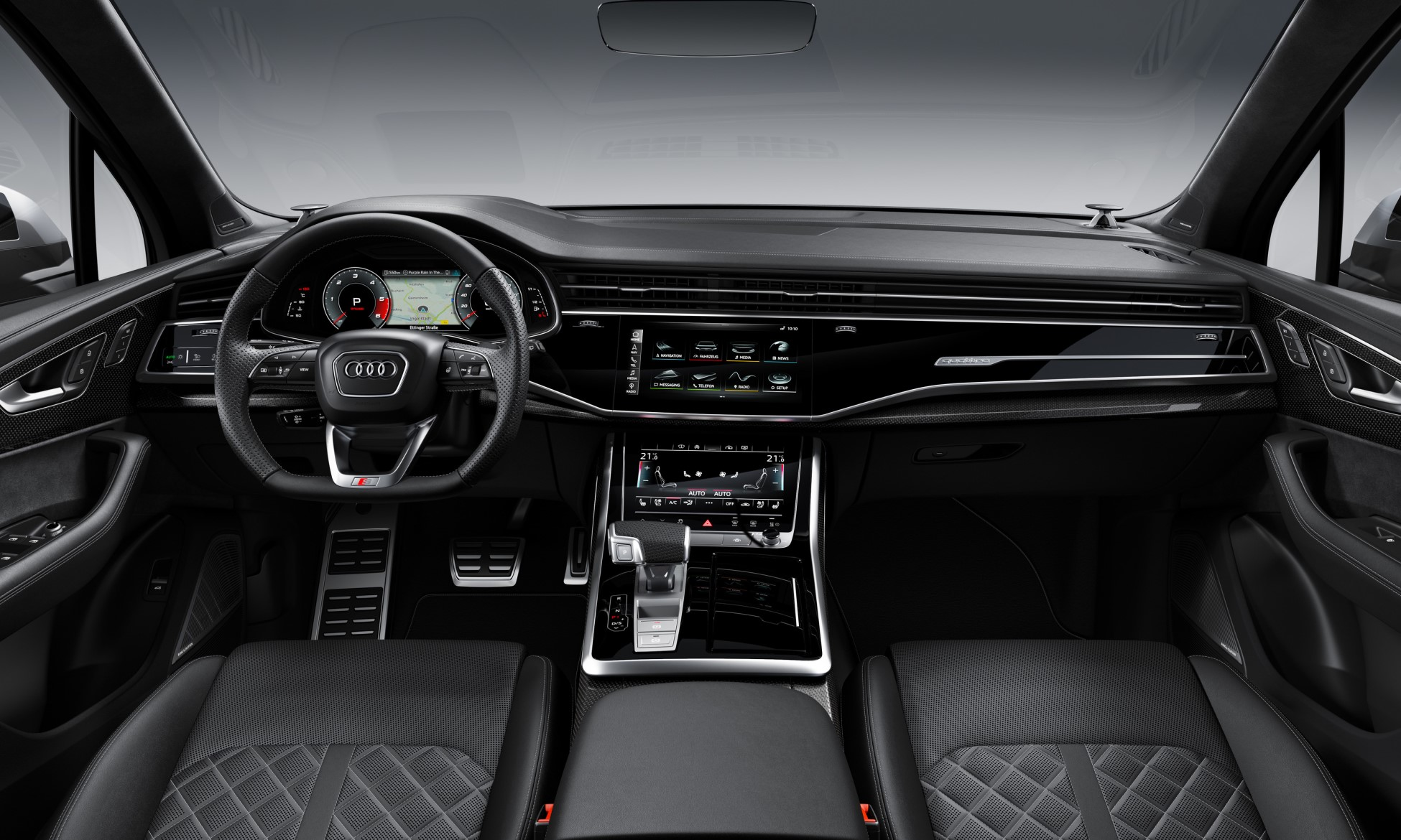 Audi SQ7 and SQ8 TDI interior
