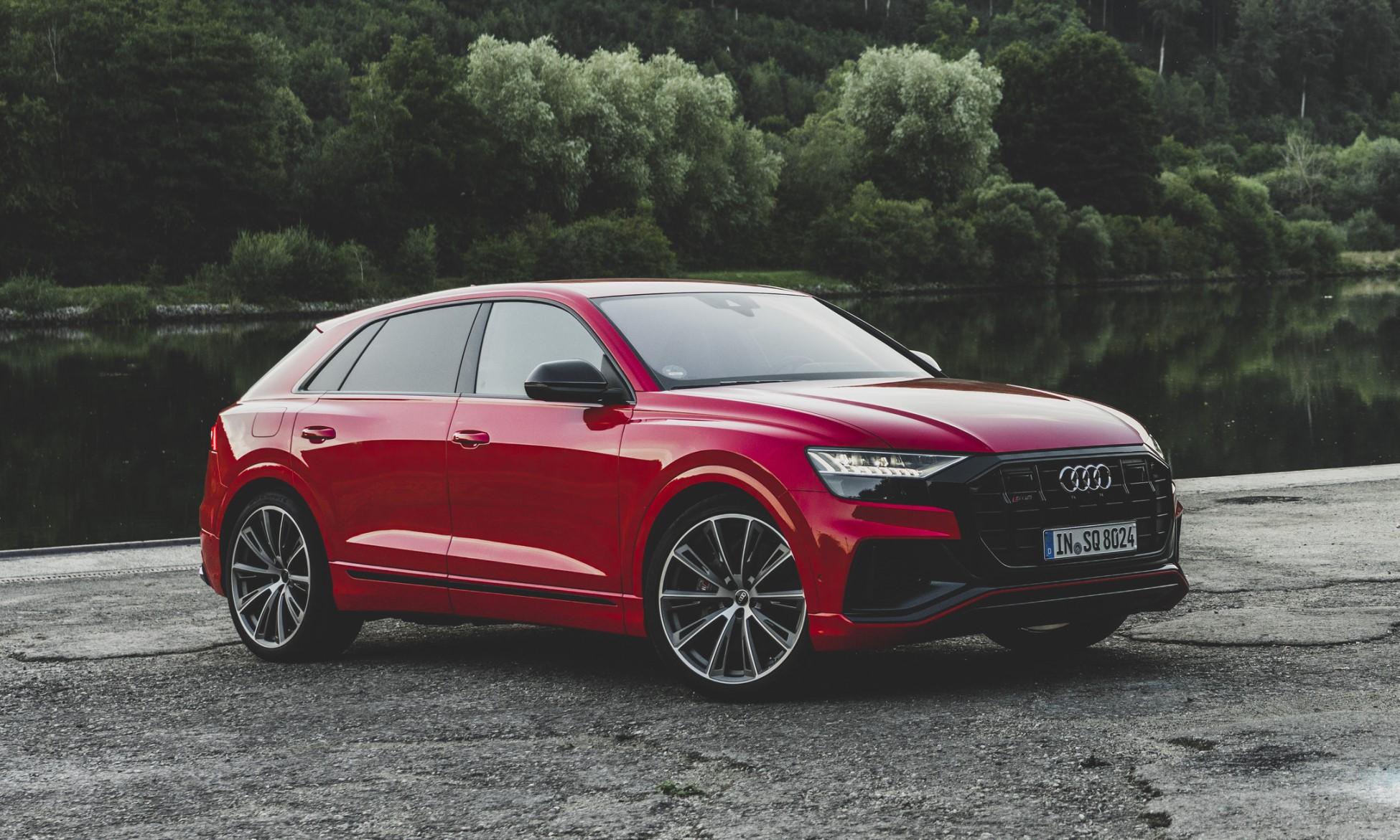 Audi SQ7 and SQ8 TDI