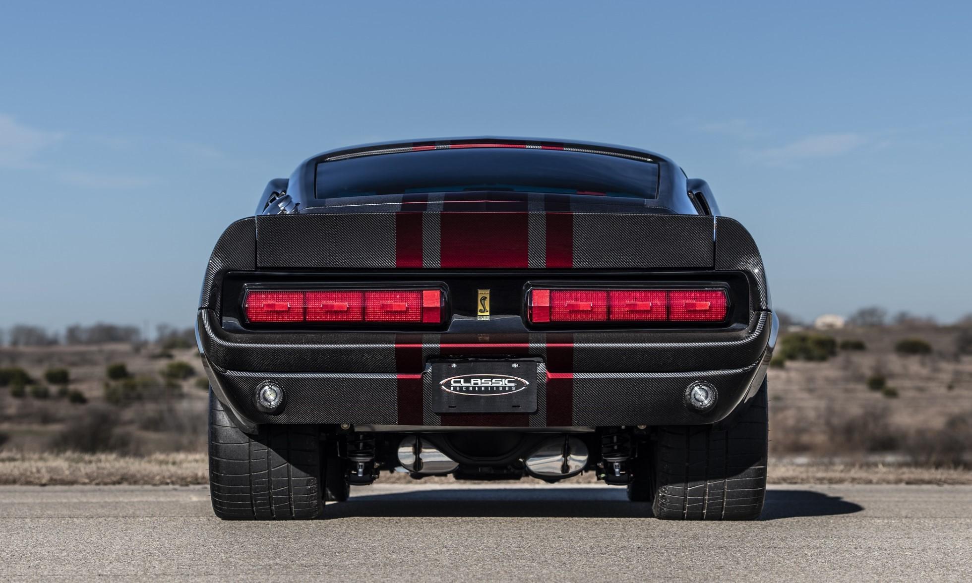 Carbon-Fibre Mustang GT500CR rear