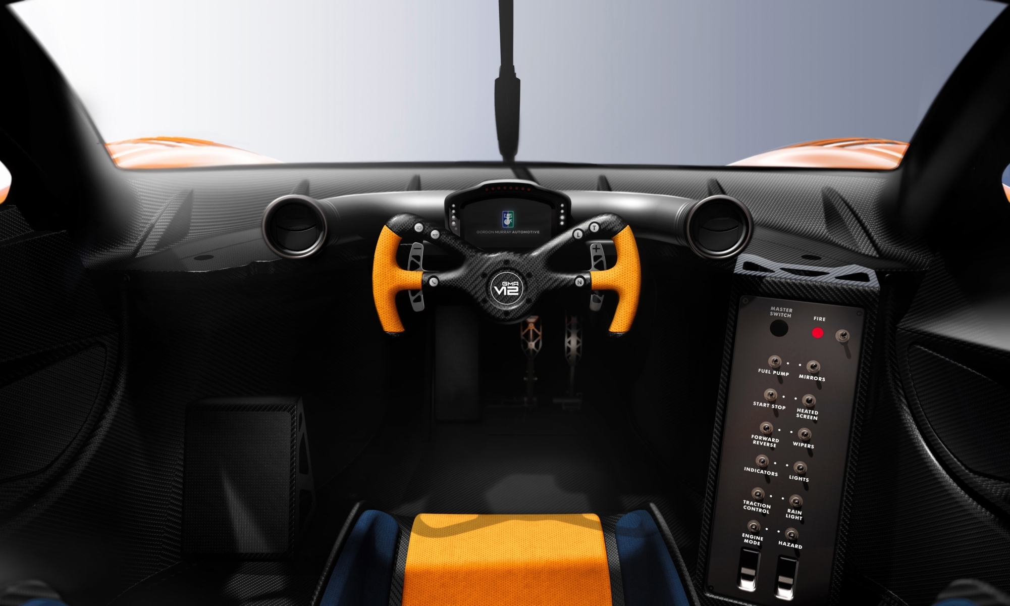 GMA T.50S Niki Lauda interior