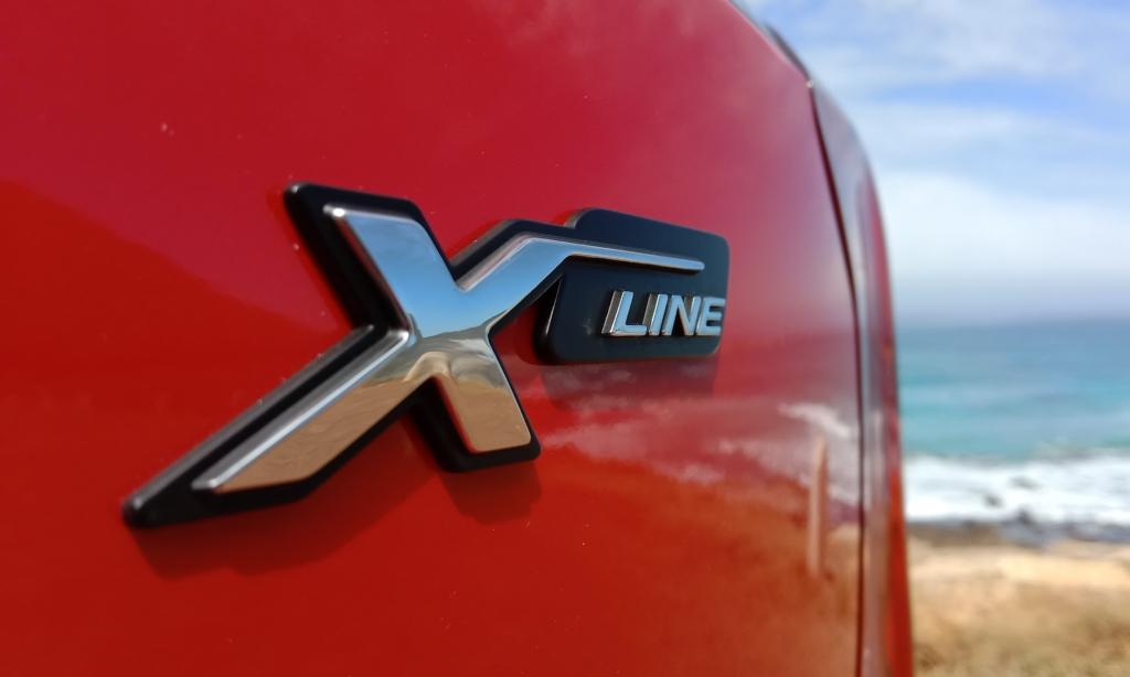 Kia Picanto X-Line badge