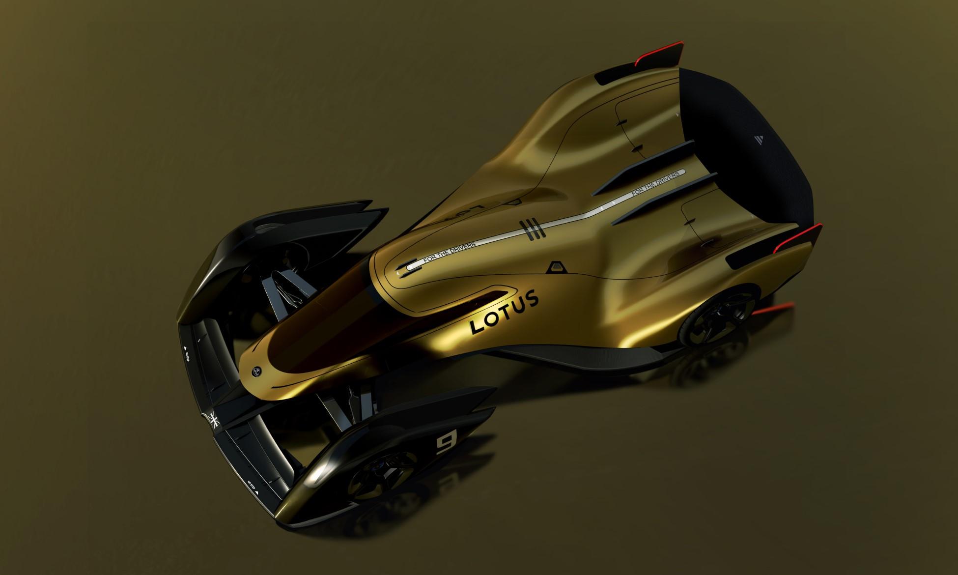 Lotus E-R9 overhead