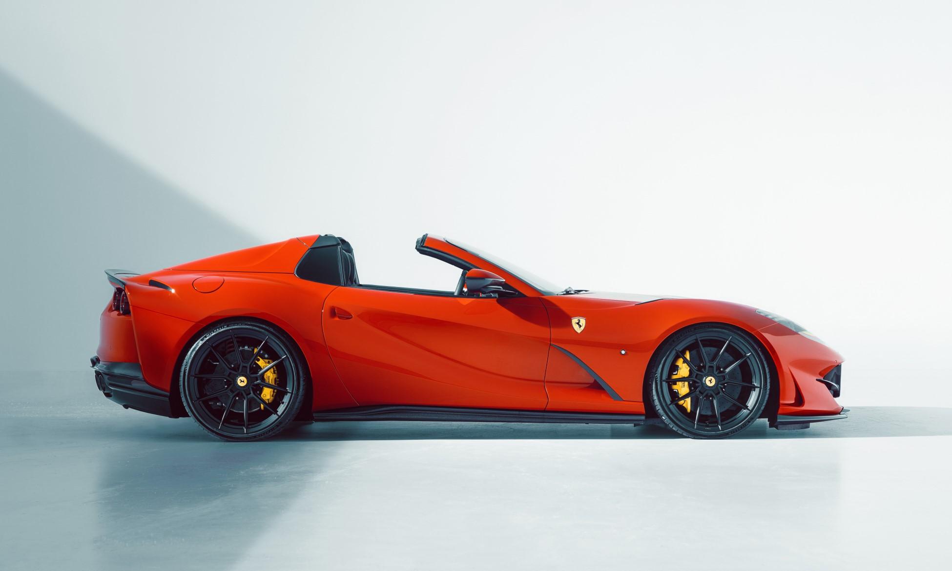 Novitec Ferrari 812 GTS profile