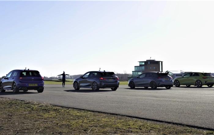 2.0T AWD Hatch Drag Race