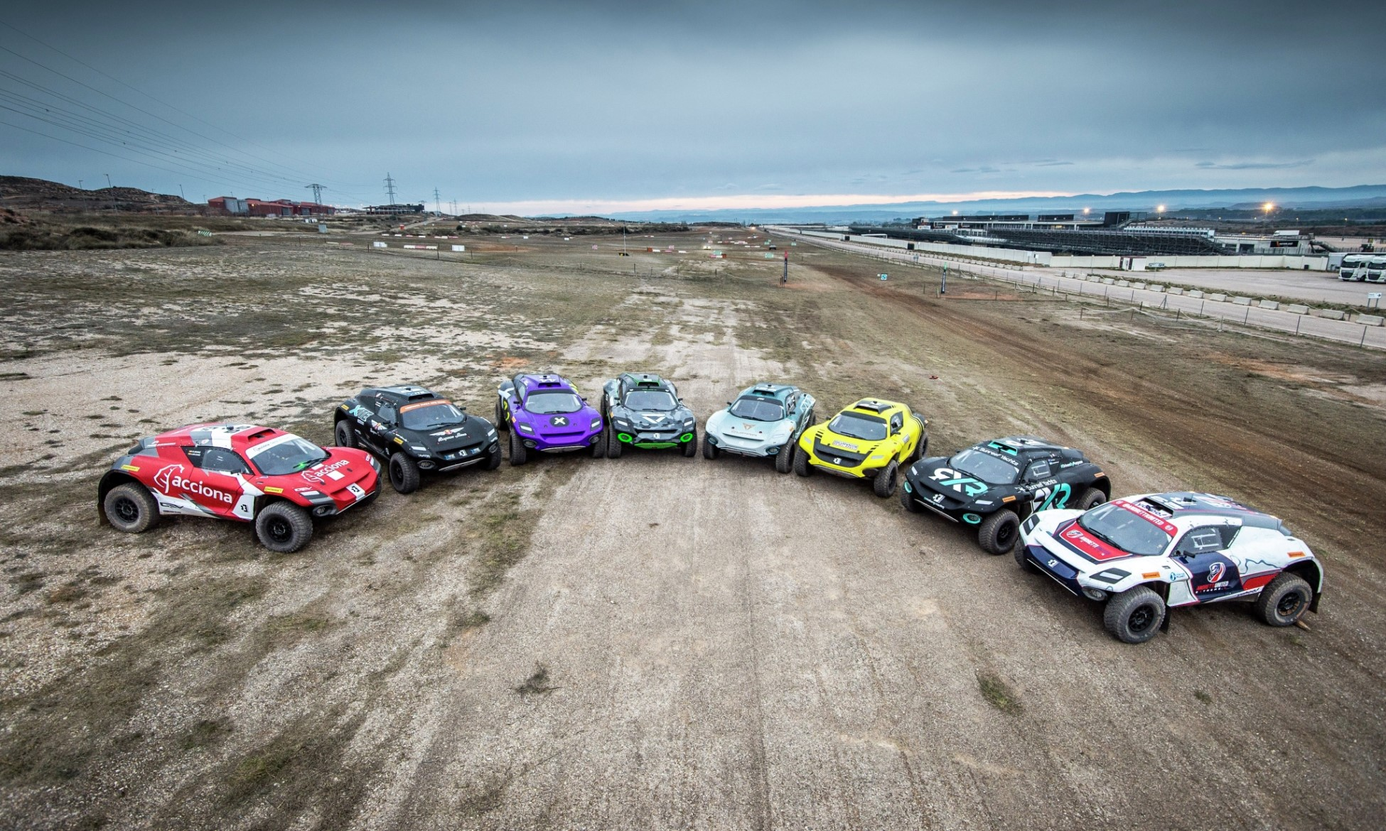 All-new Extreme E Off-road Series