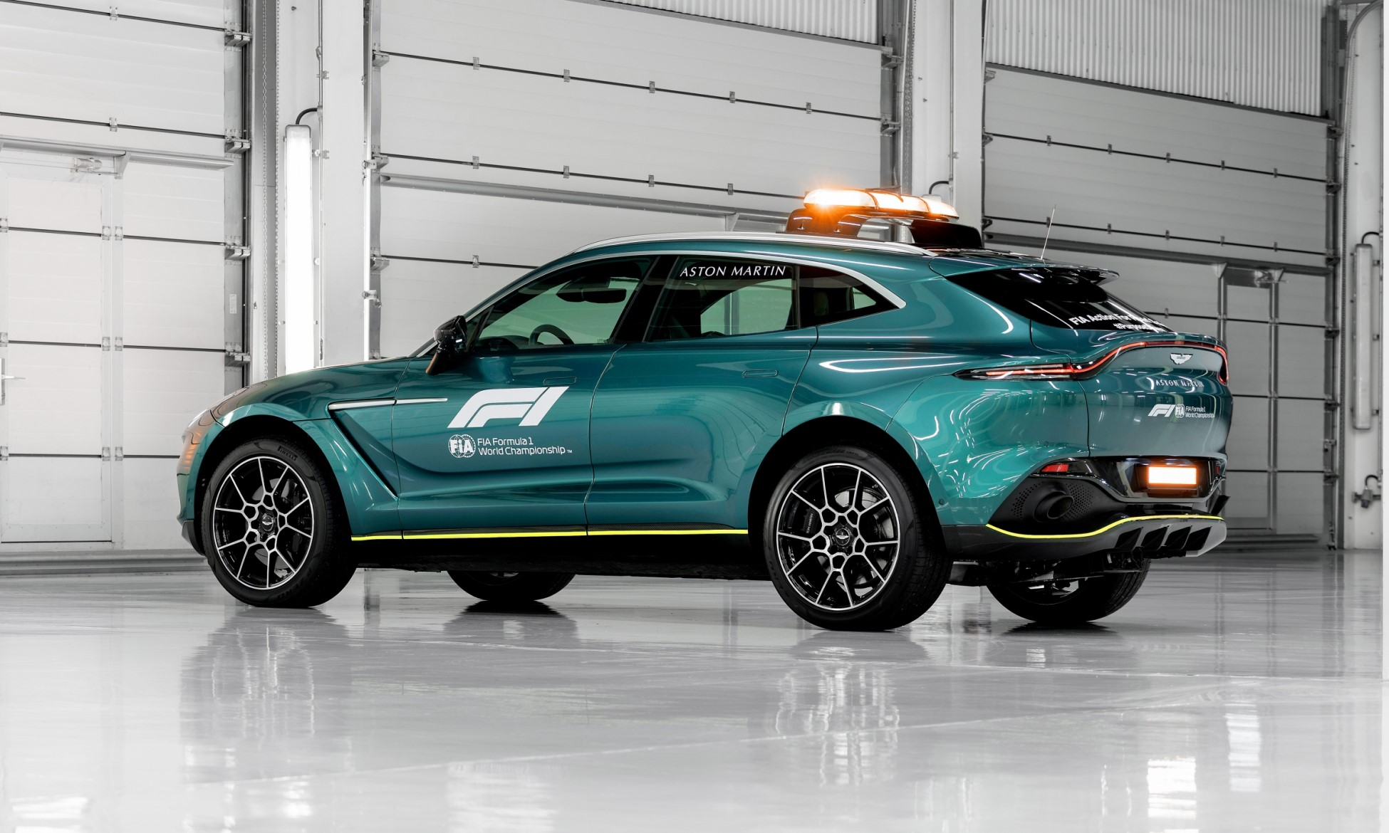 Aston Martin DBX Medical Car of Formula One
