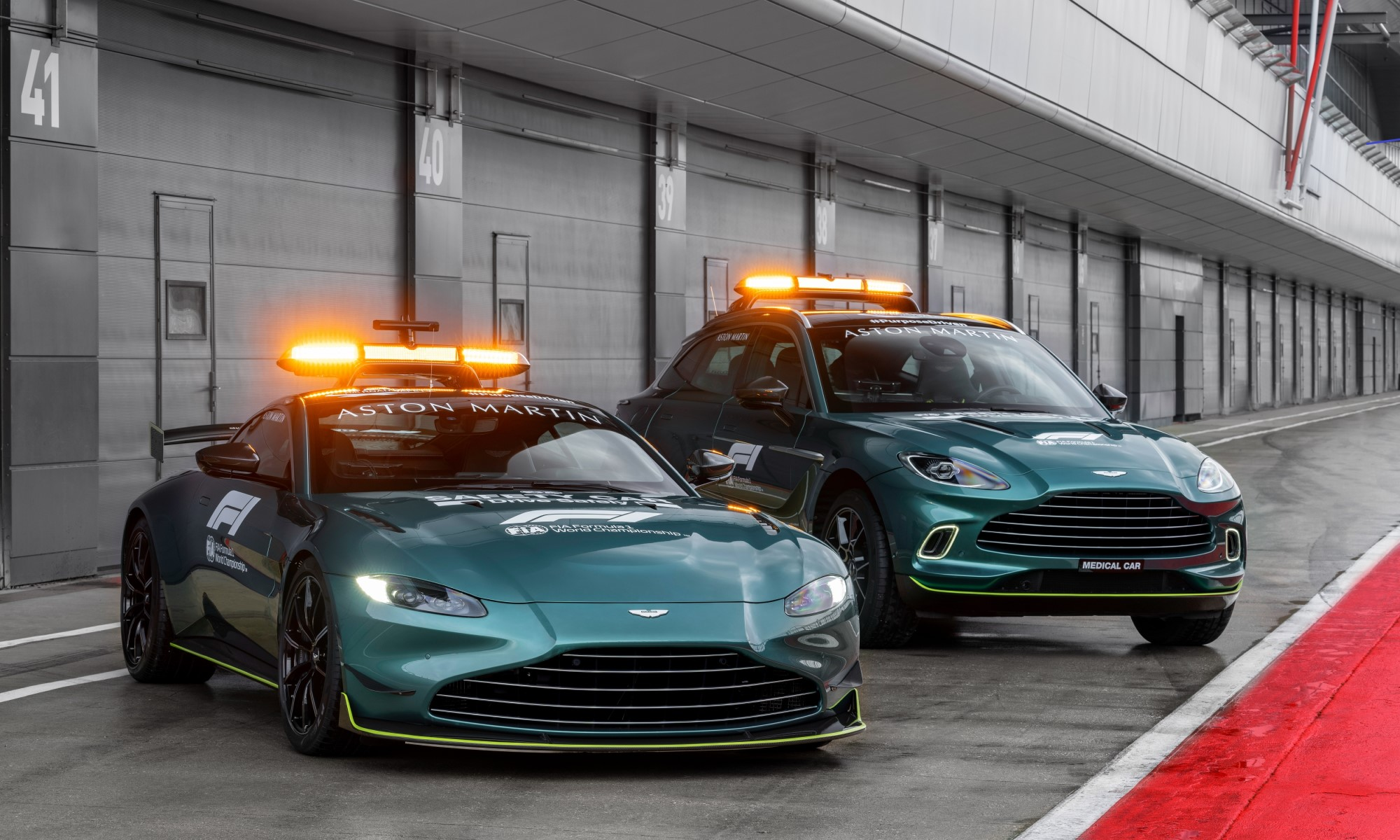 Aston Martin F1 Safety Car and Medical Car