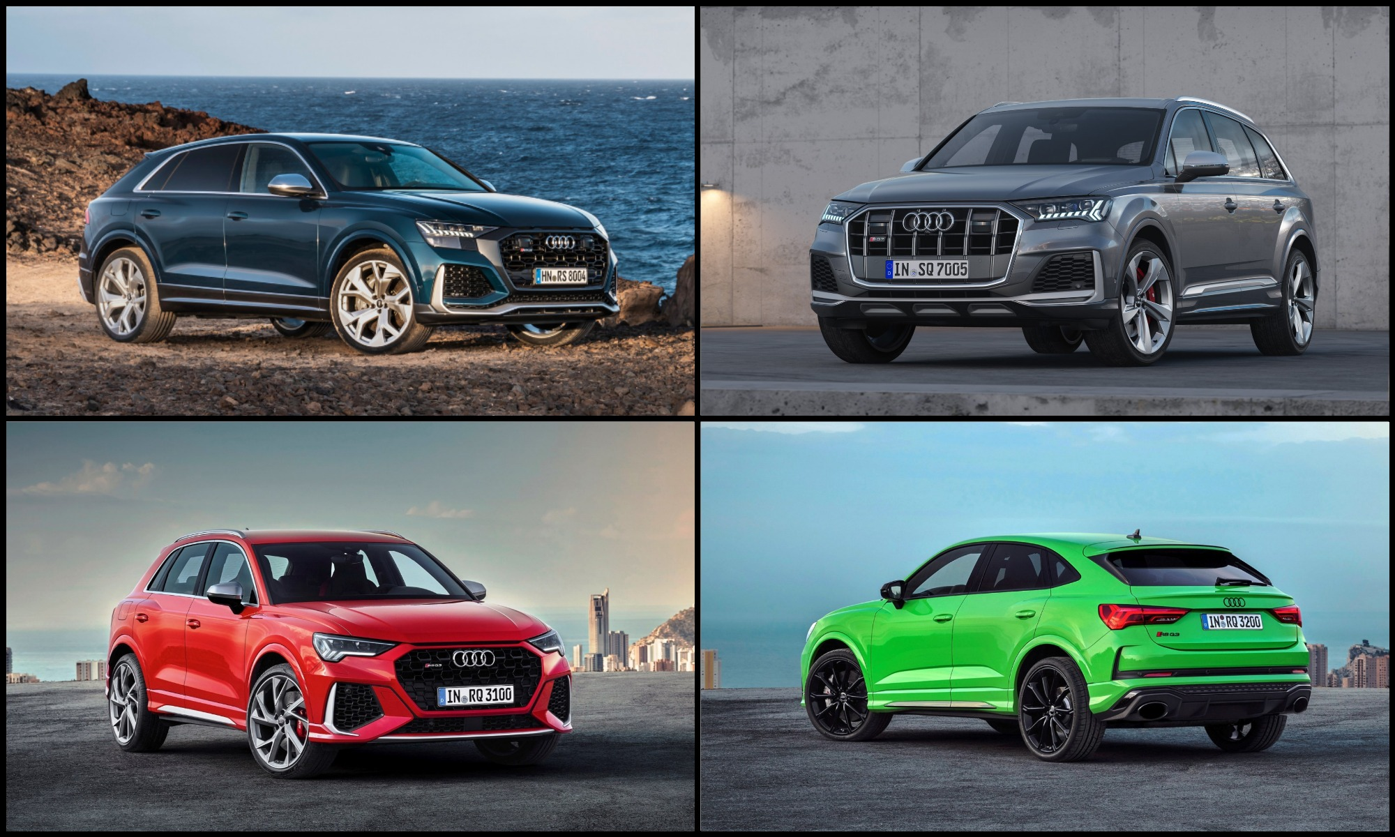 Audi Performance Expansion Plans SUVs