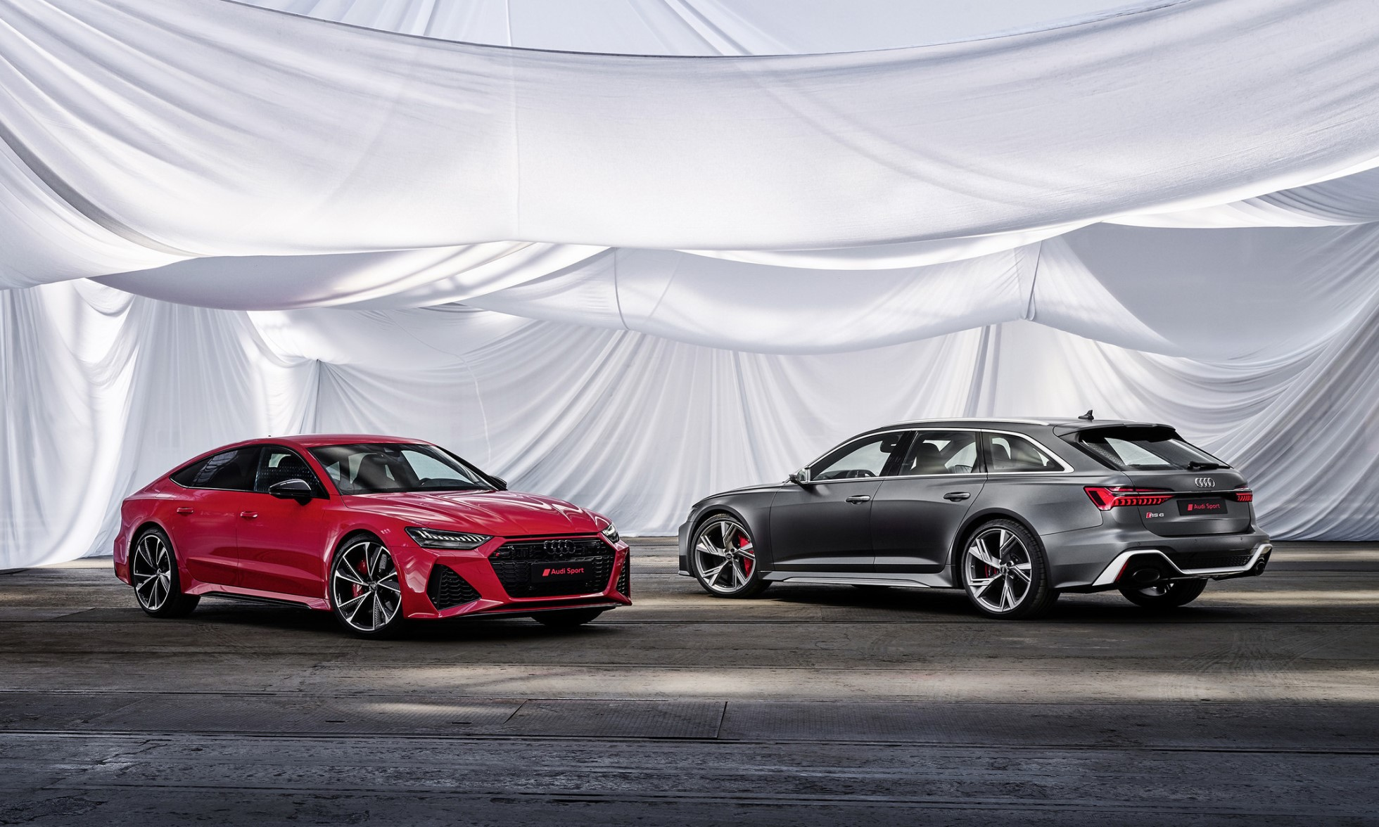 Audi RS6 Avant and RS7 Sportback