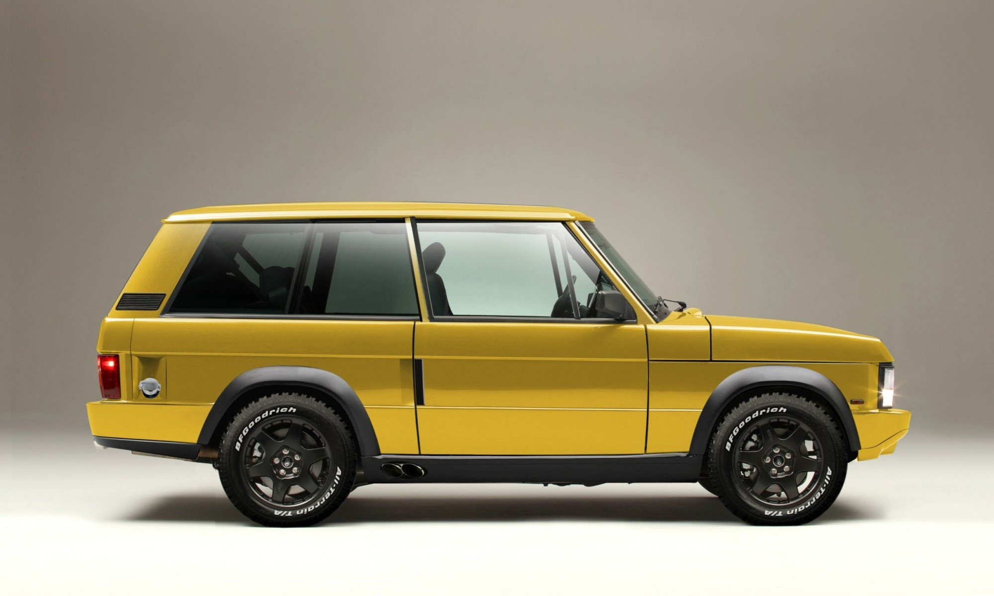 Chieftain Range Rover Classic profile