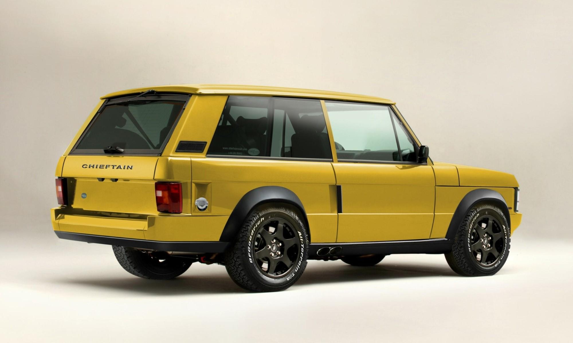 Chieftain Range Rover Classic rear