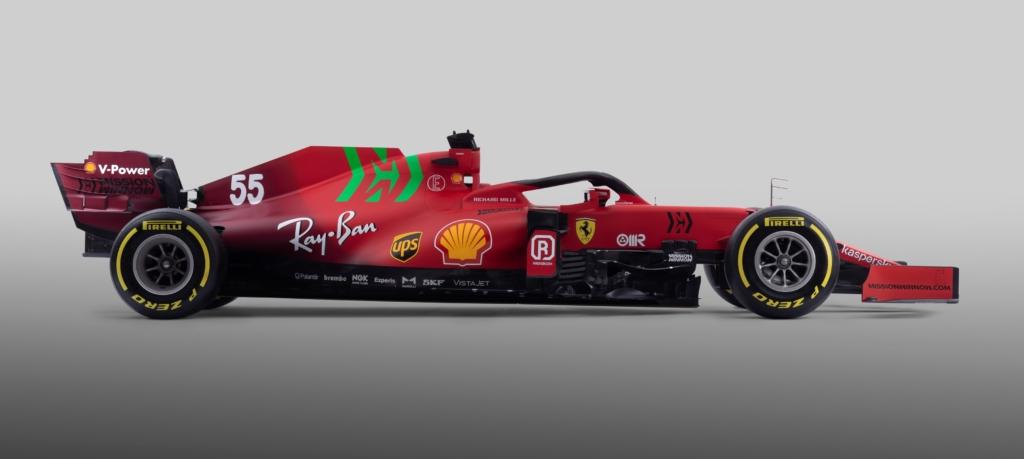 Ferrari SF21 profile