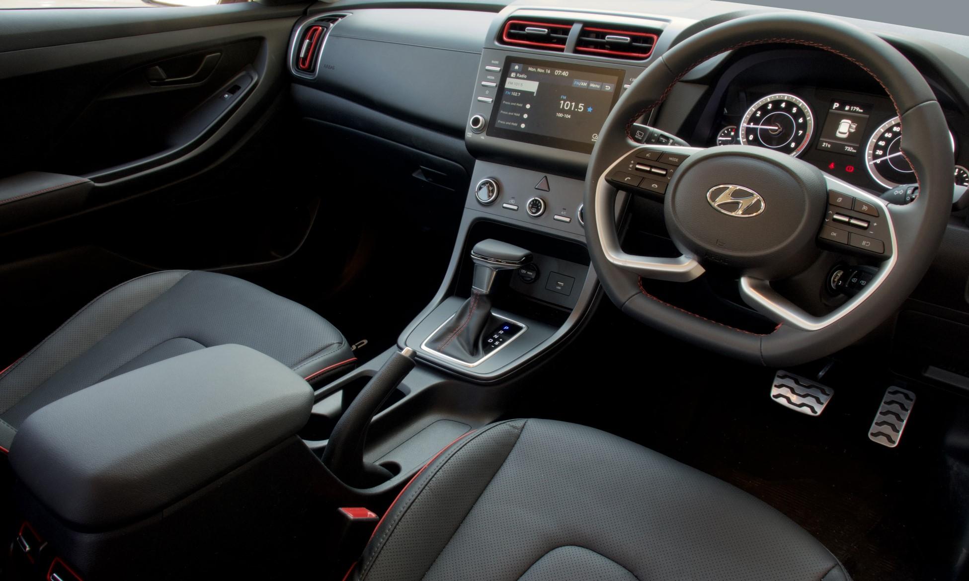 Hyundai Creta 1.4 TGDI Executive interior