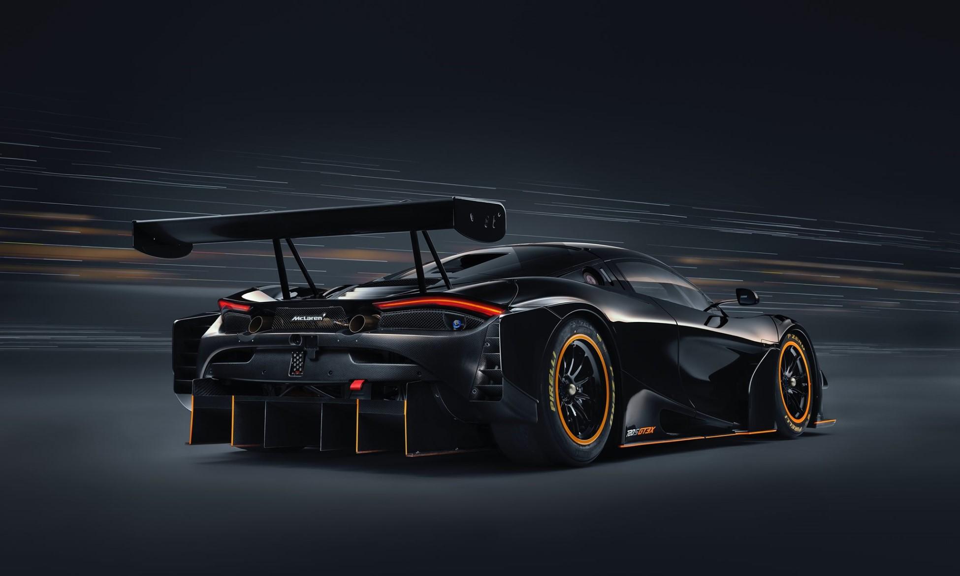 McLaren 720S GT3X rear