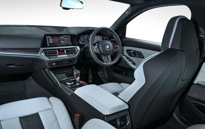 G80 BMW M3 Competition interior