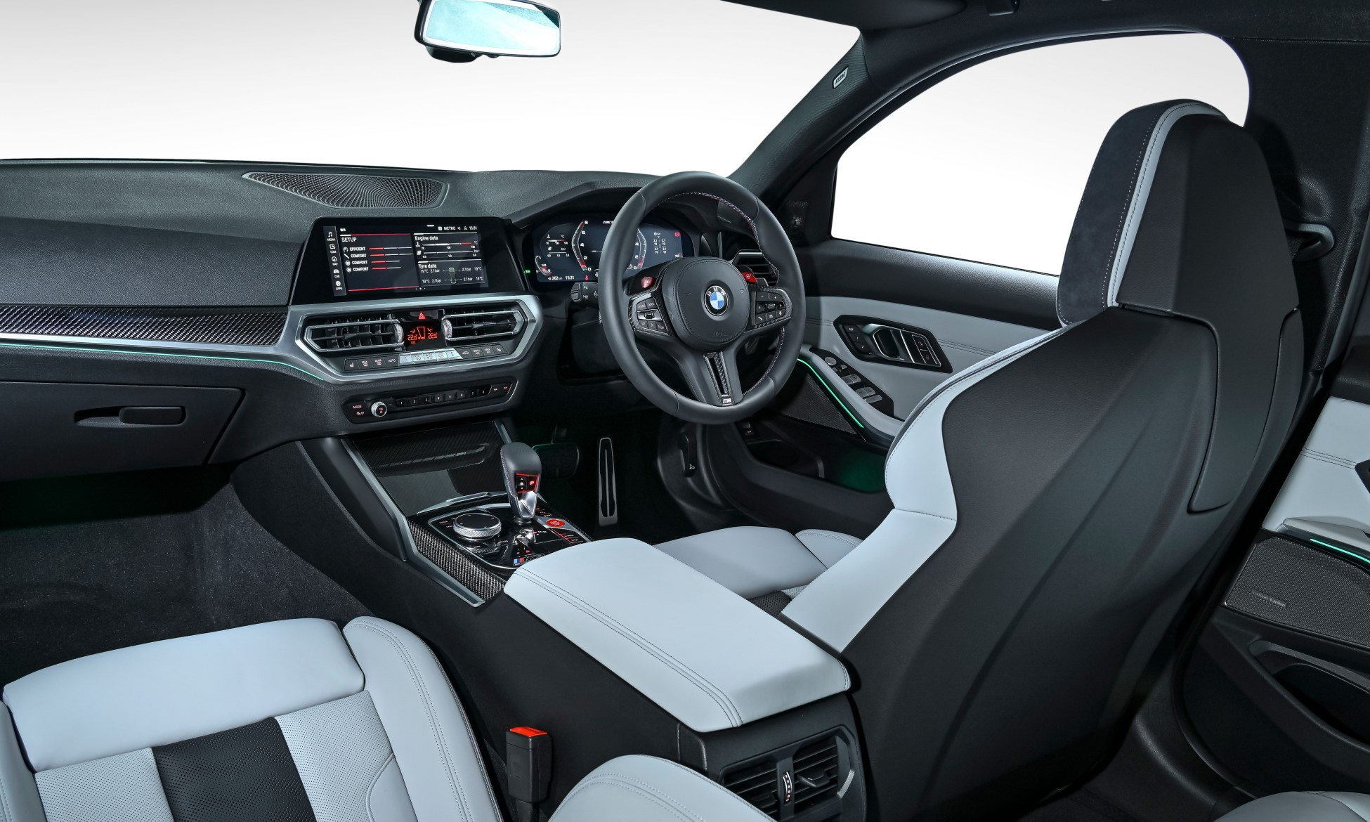 G80 BMW M3 Competition interior