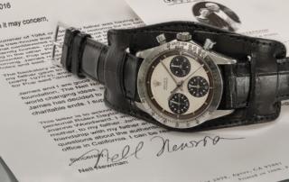 Paul Newman's record-setting Rolex Daytona