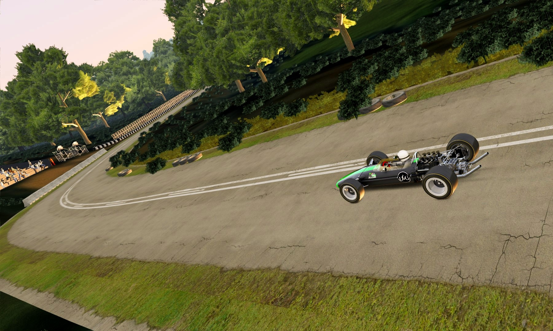 2021 Virtual Simola Hillclimb track