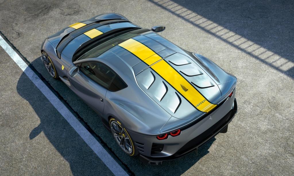 Limited edition Ferrari V12 overhead