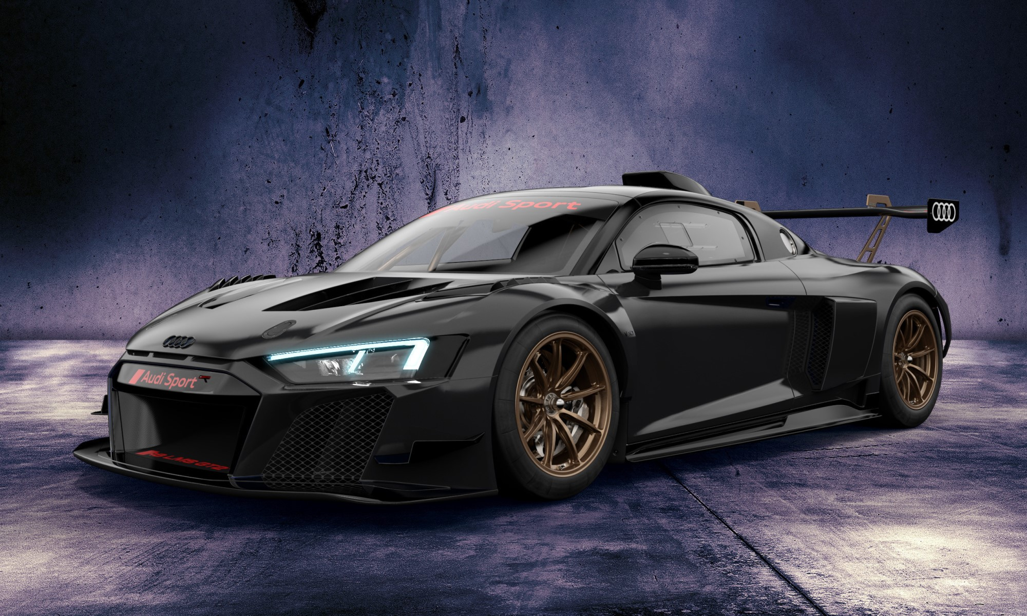 Audi R8 GT2 Colour Editior