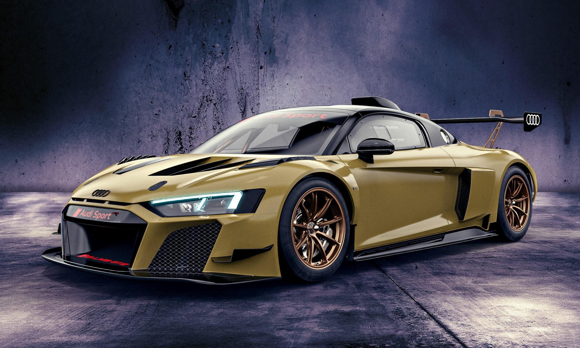 Audi R8 GT2 Colour Editions