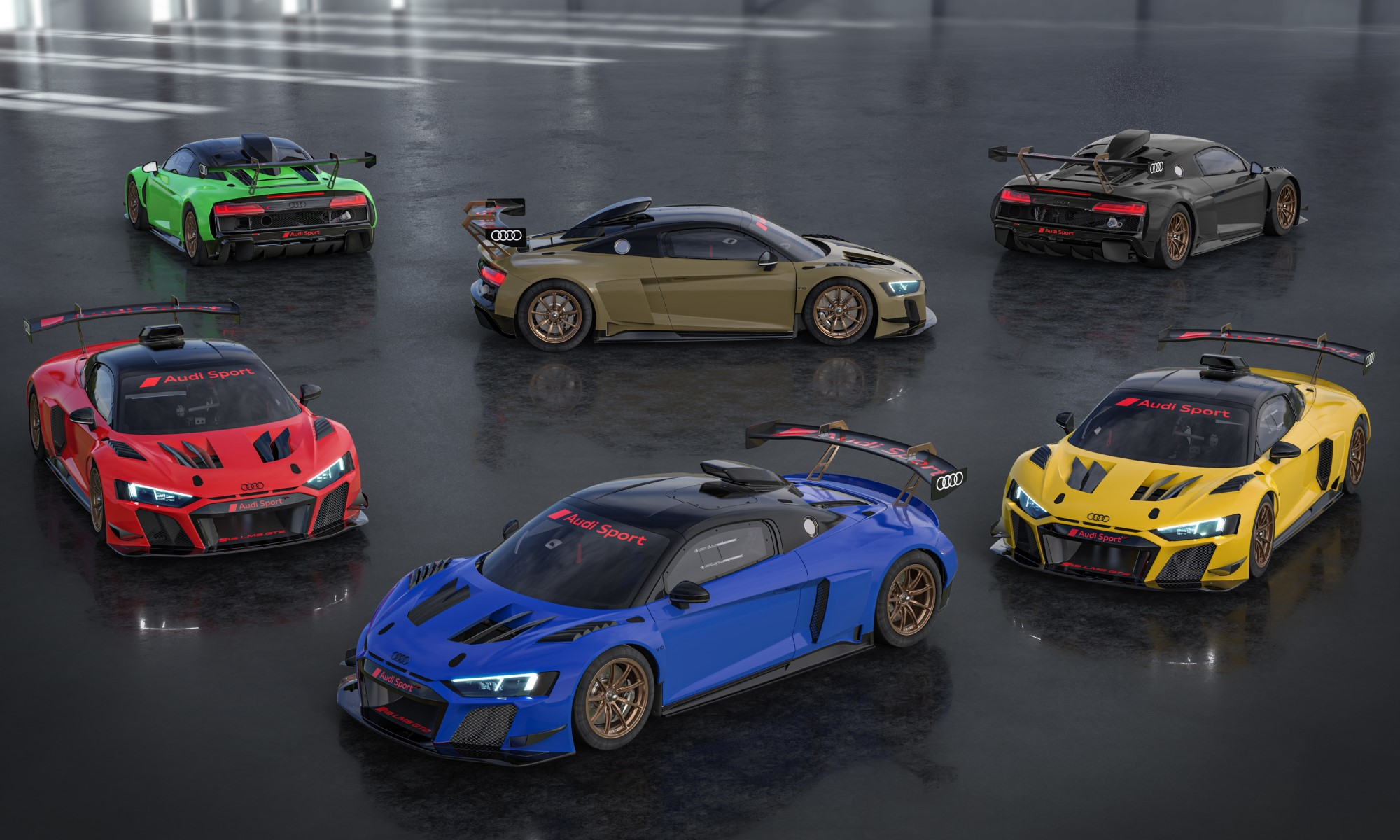 Audi R8 GT2 Colour Editions