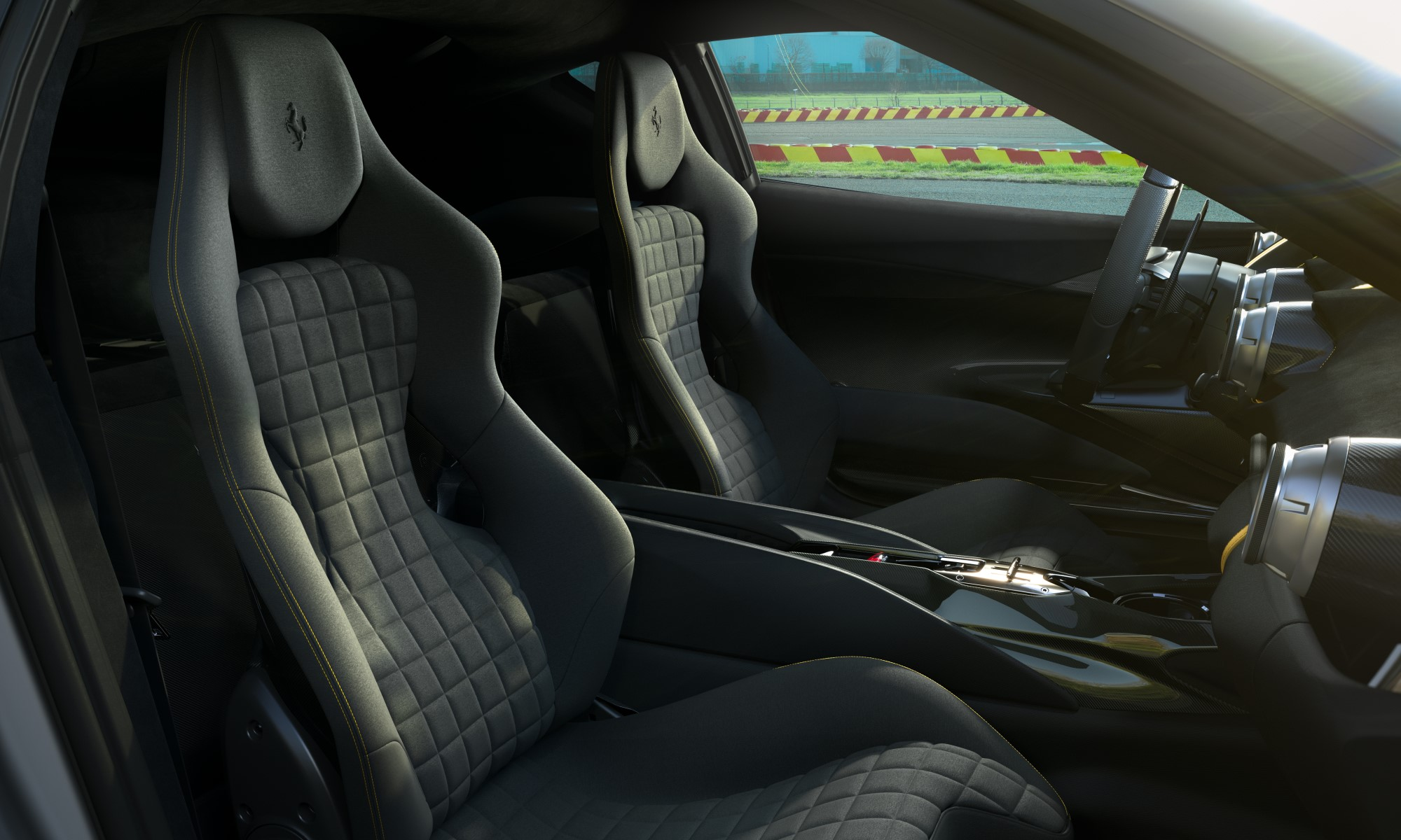 Limited edition Ferrari V12 interior