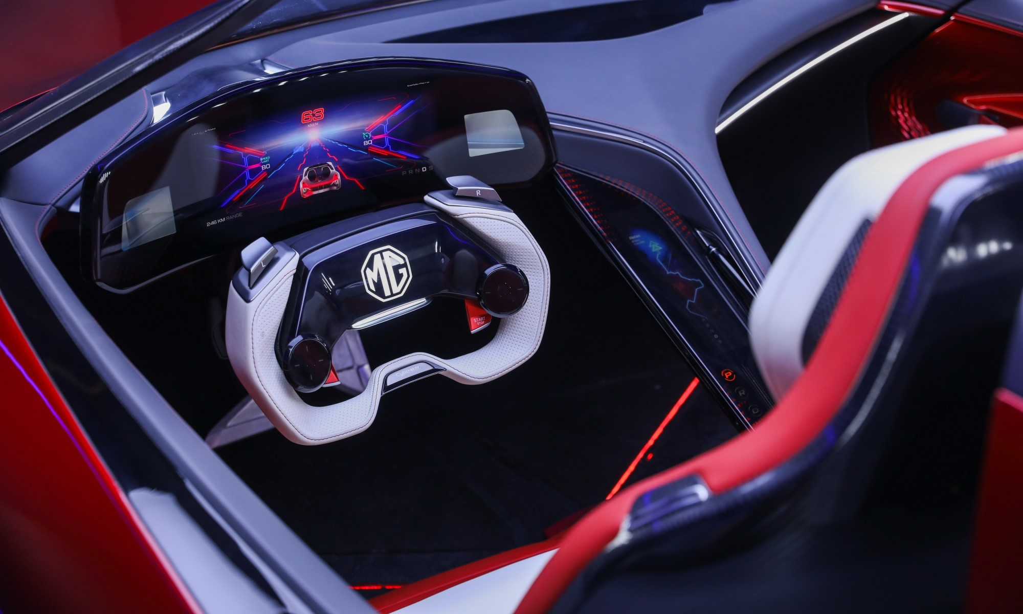 MG Cyberster Concept interior