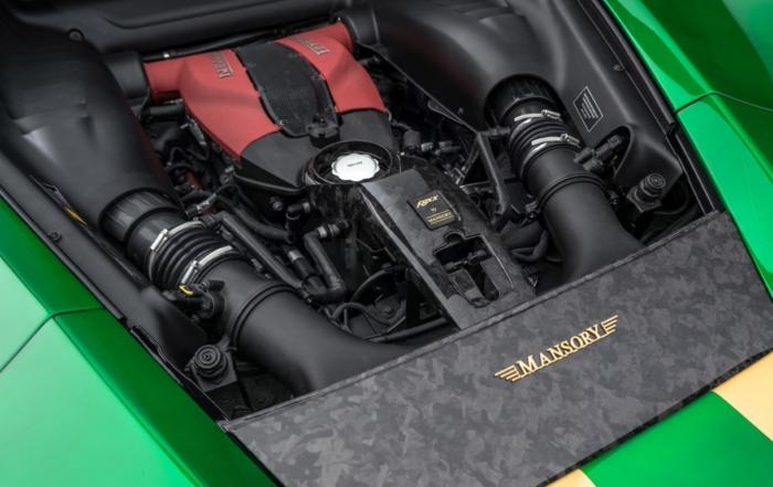 Mansory F8XX engine