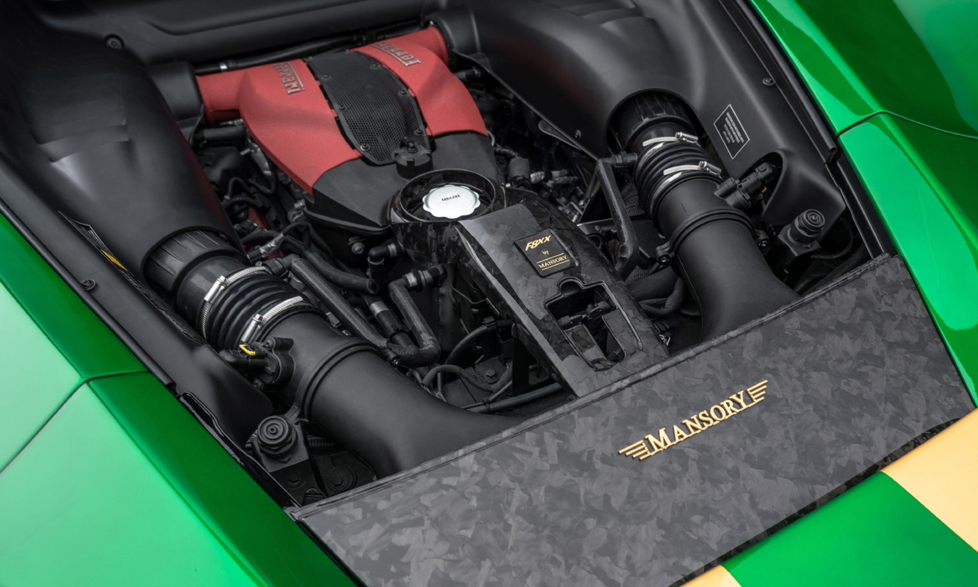 Mansory F8XX engine