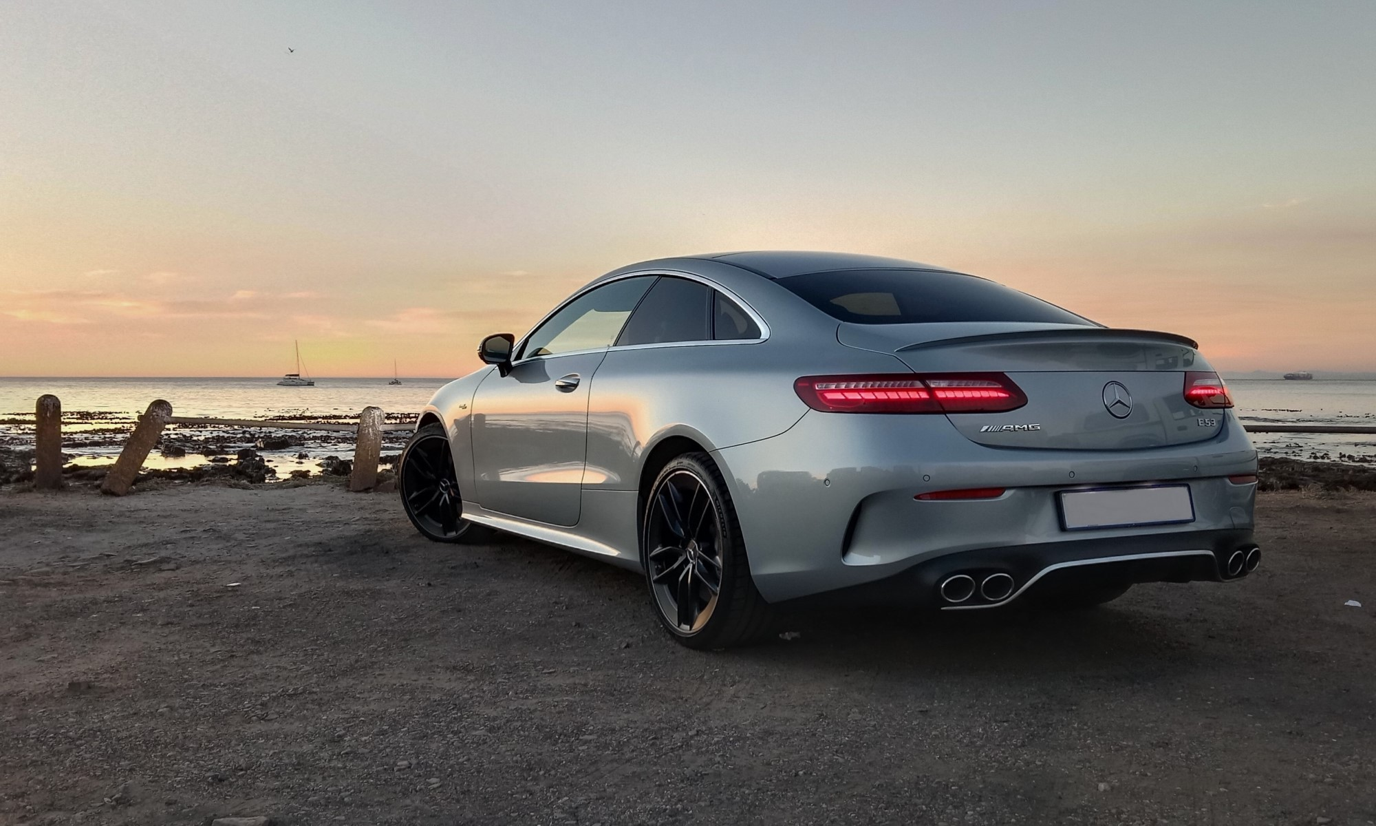 Mercedes-AMG E53 Coupe rear