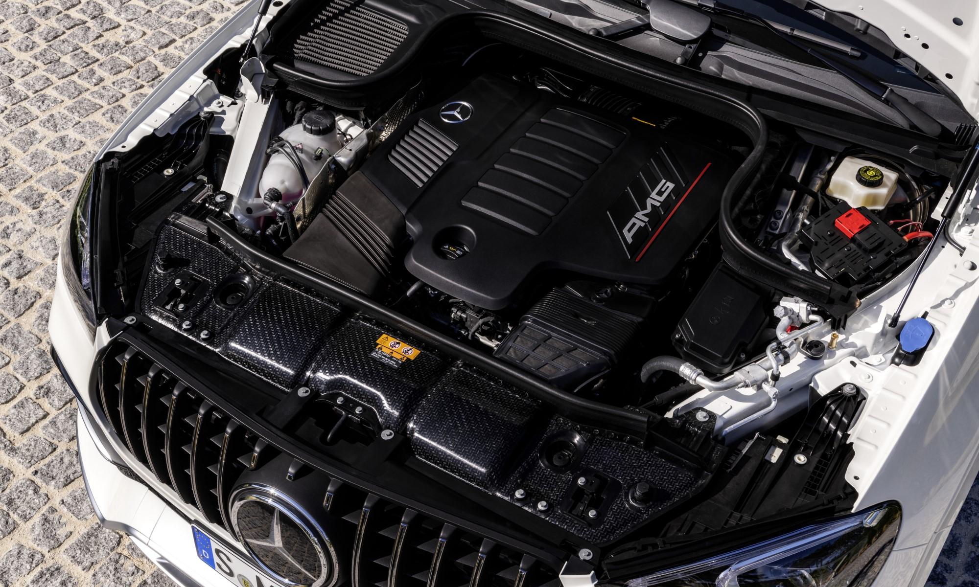 Mercedes-AMG GLE53 engine