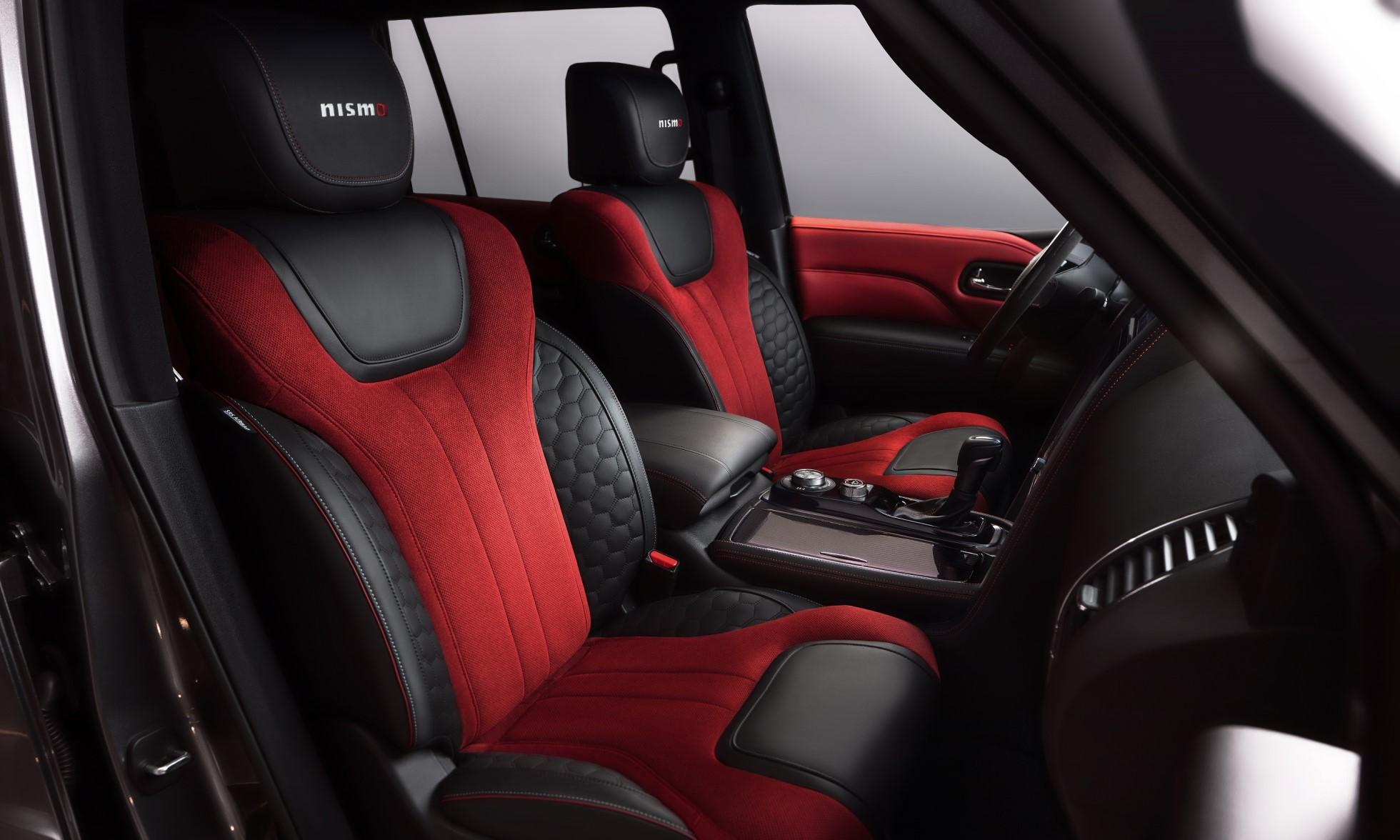 Nissan Patrol Nismo Edition cabin