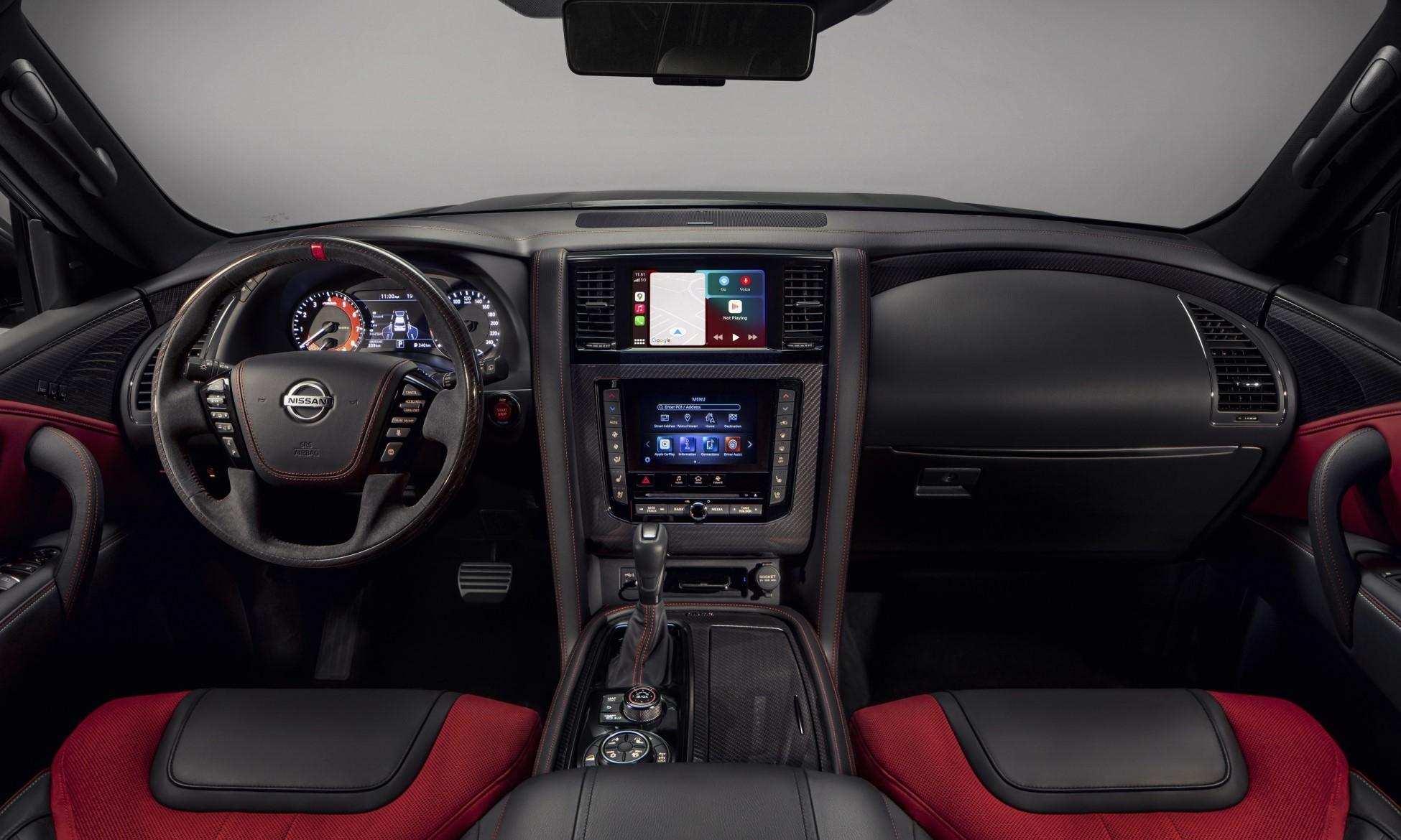 Nissan Patrol Nismo Edition interior