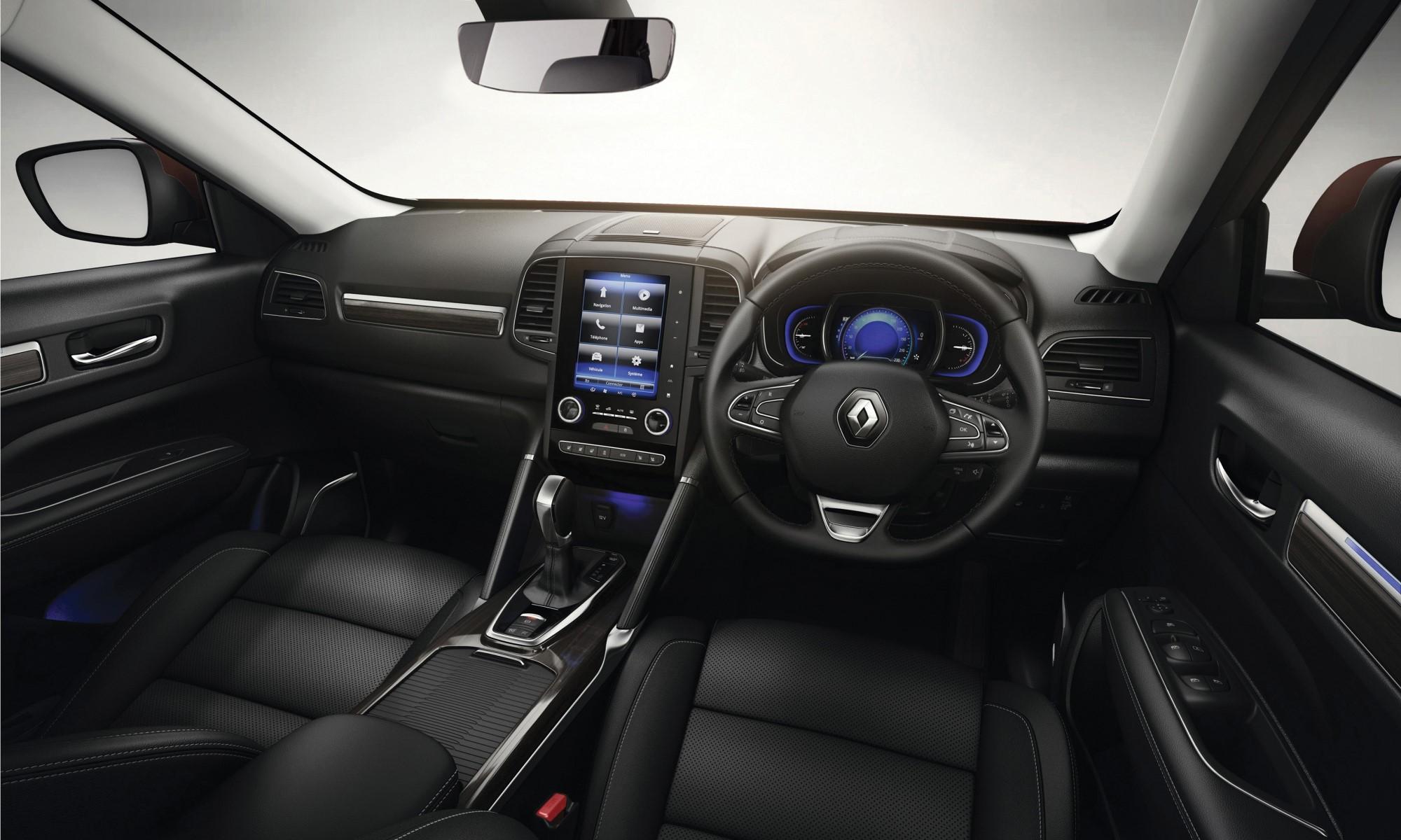 Renault Koleos Dynamique CVT interior