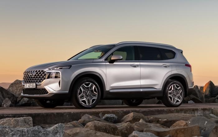 Revised Hyundai Santa Fe