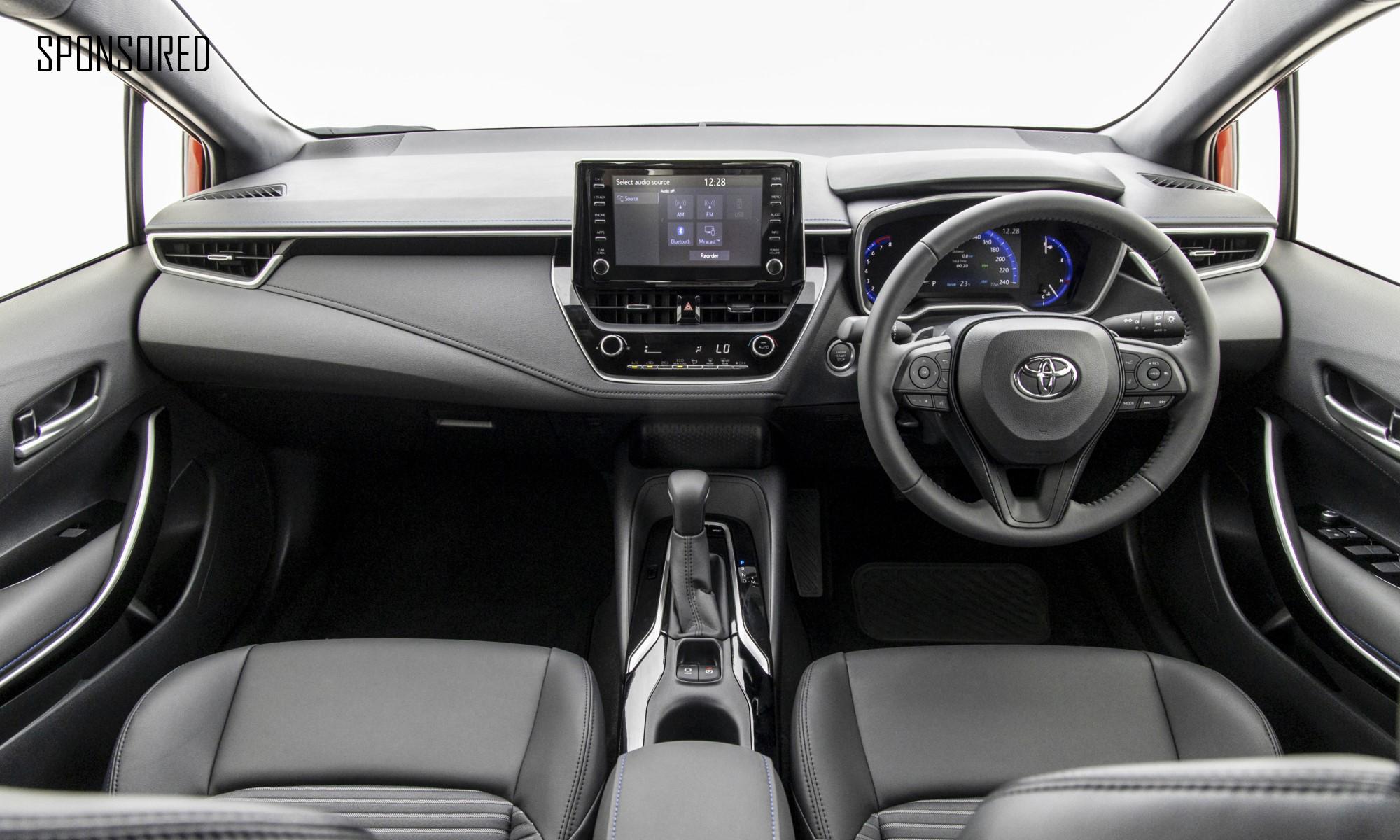 New Corolla Sedan interior