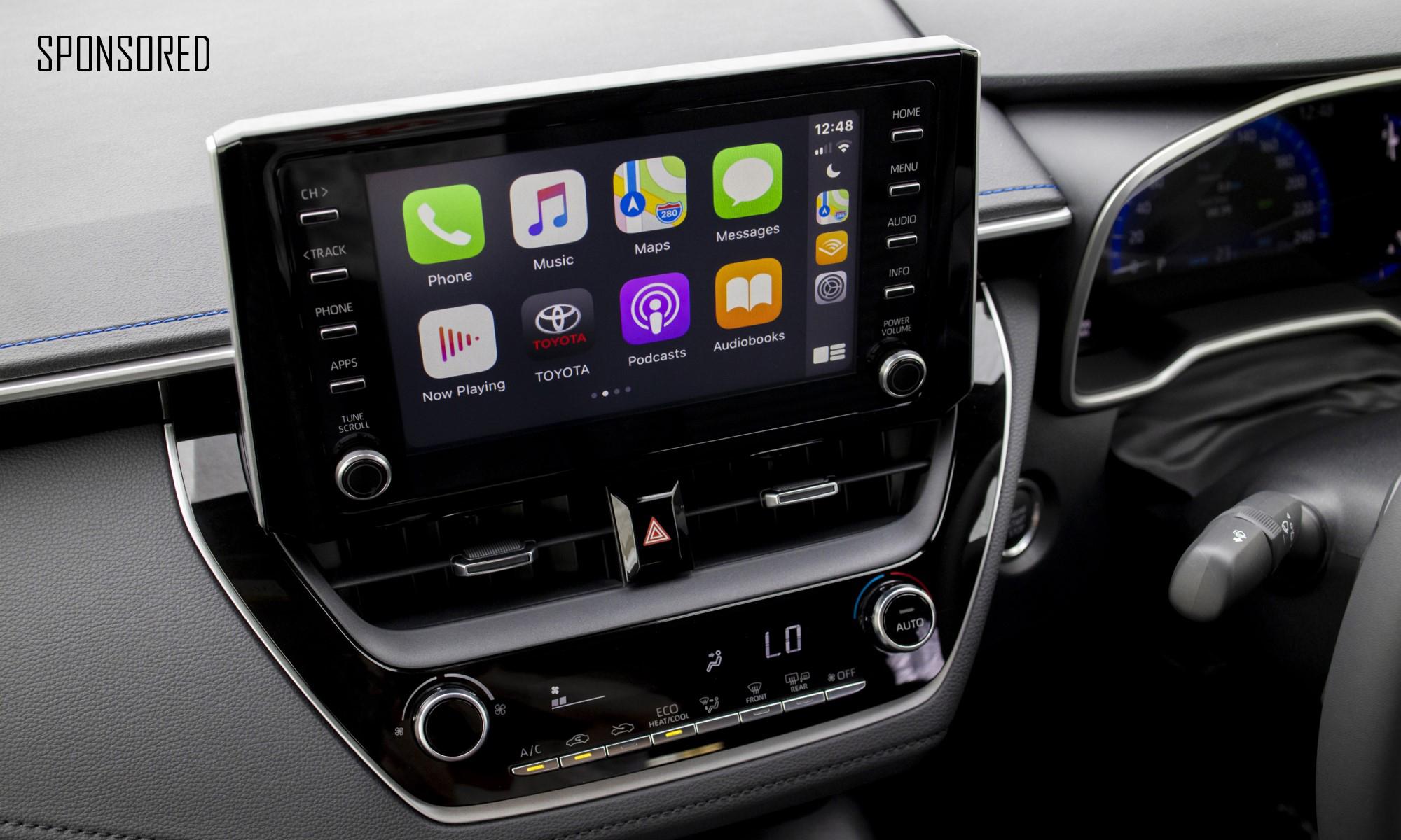New Corolla Sedan infotainment