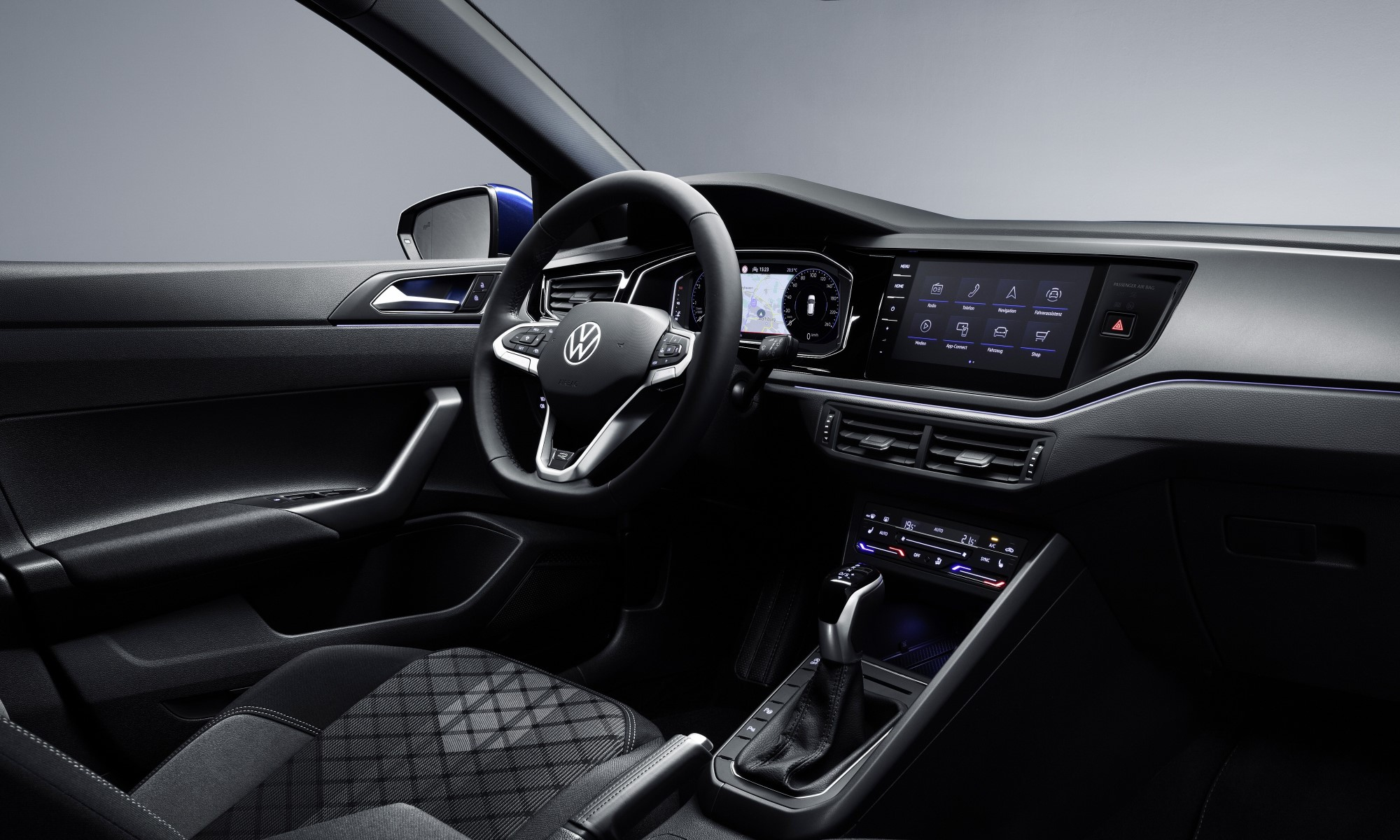 Revised VW Polo cabin