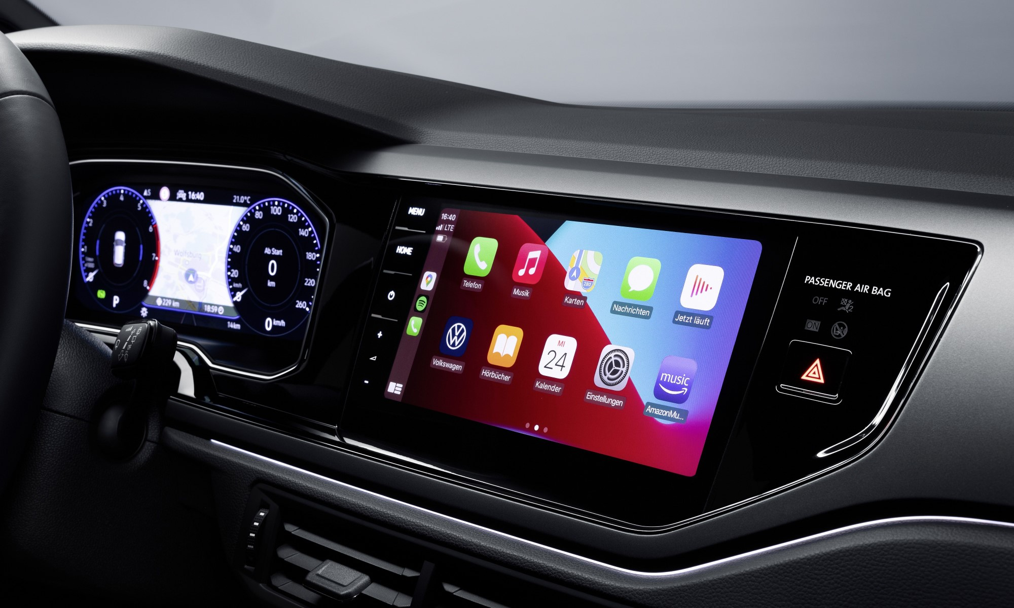 Revised VW Polo infotainment