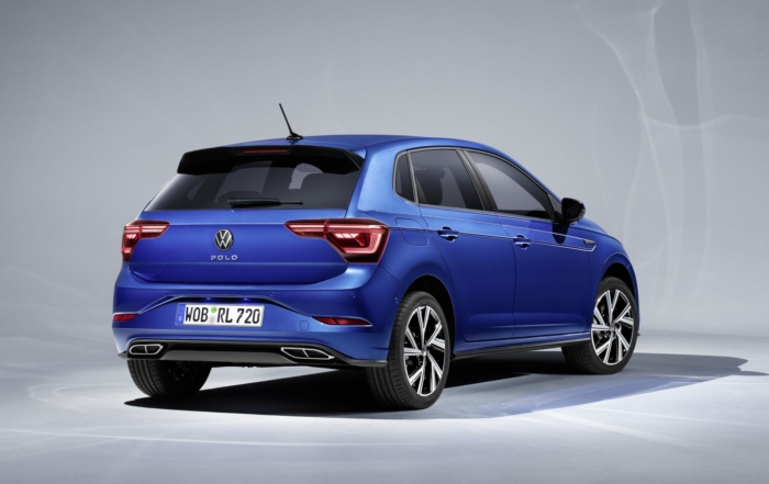 Revised VW Polo rear