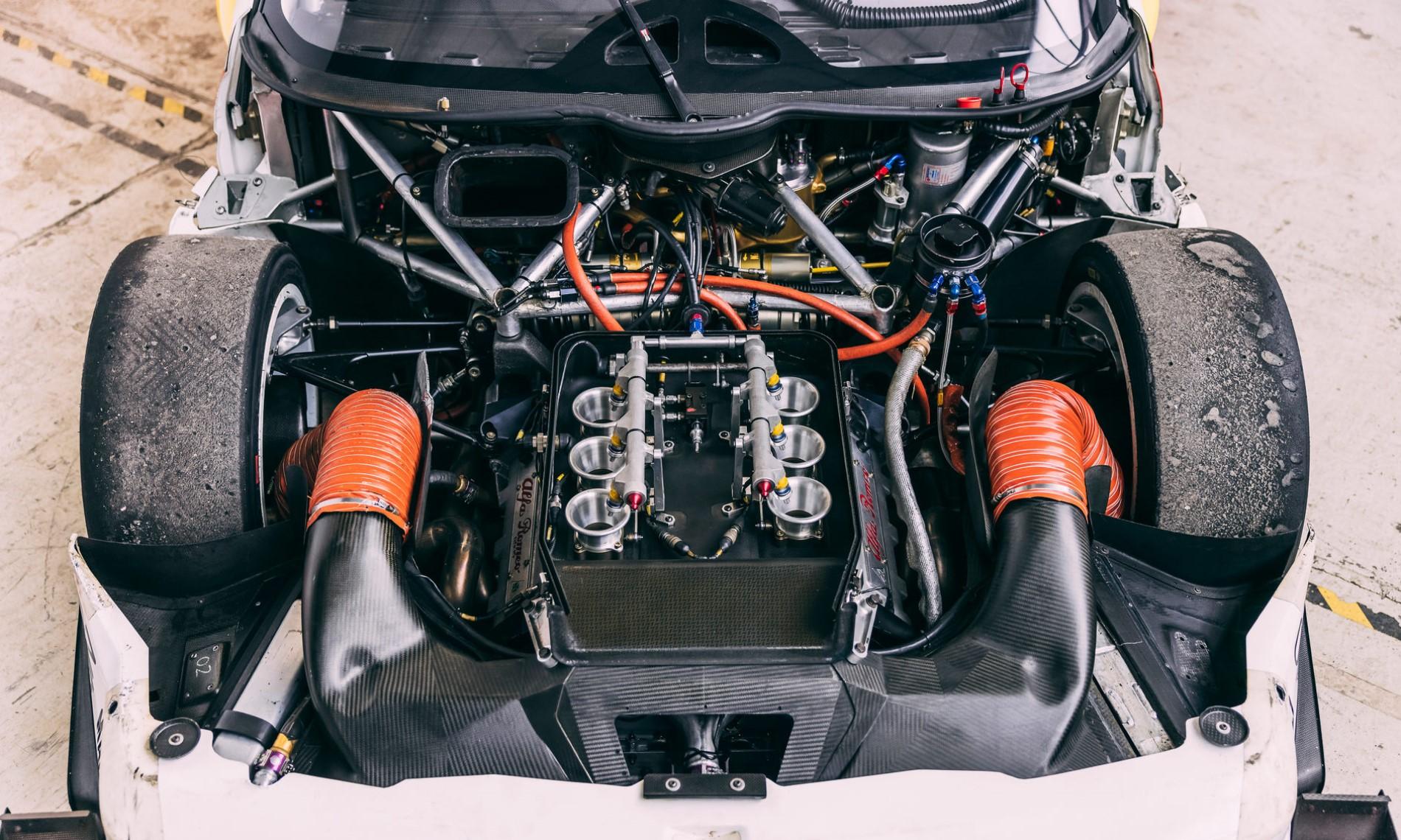 Alfa Romeo 155 V6 Ti engine
