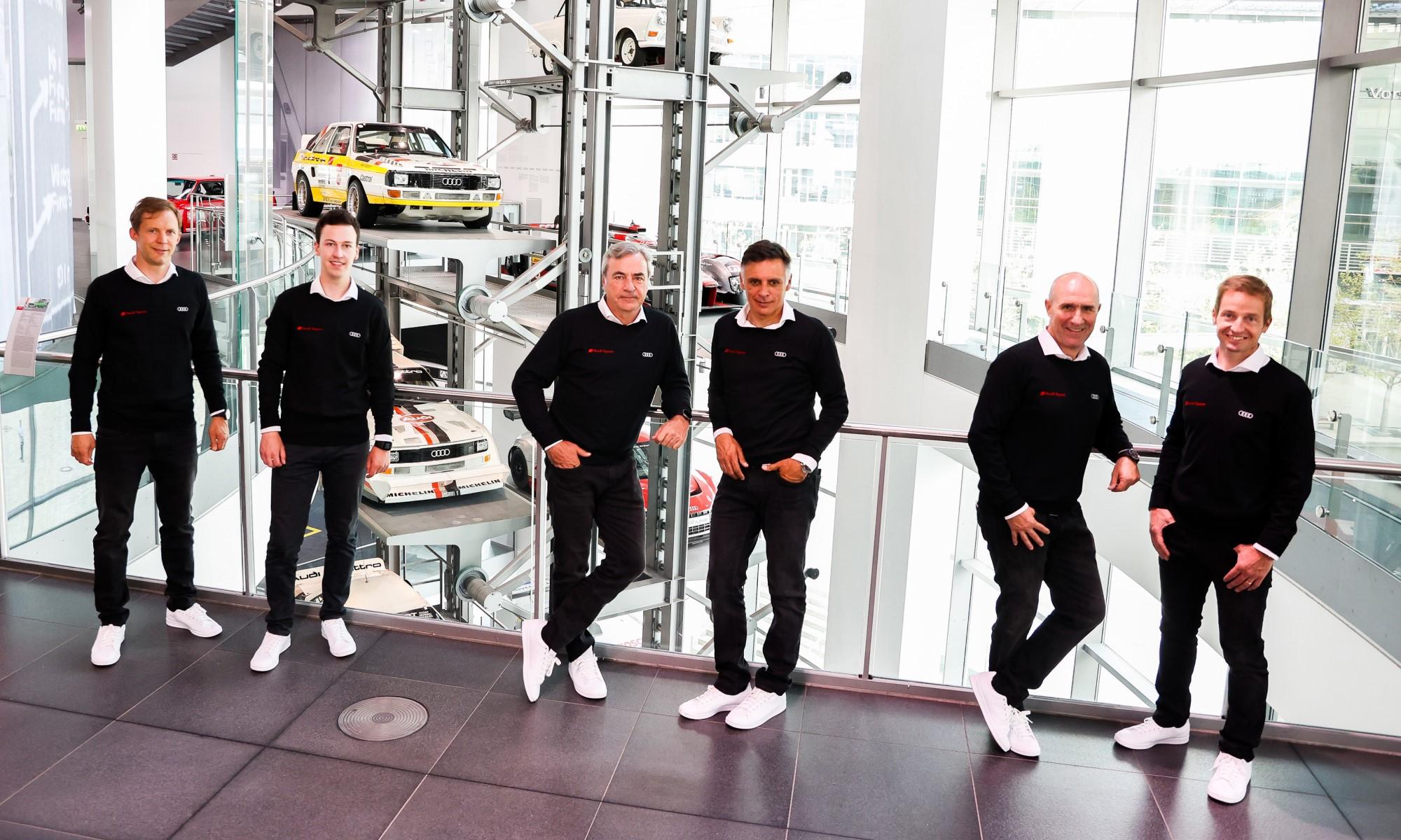 Audi Dakar Driver Line-up 3
