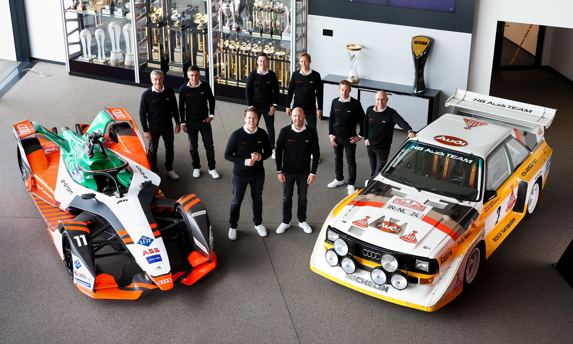 Audi Dakar Driver Line-up
