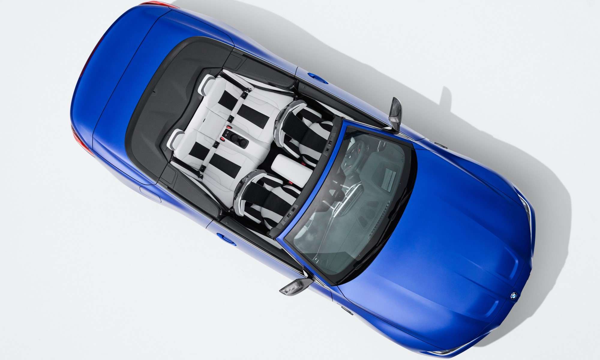 BMW M4 Competition Convertible overhead