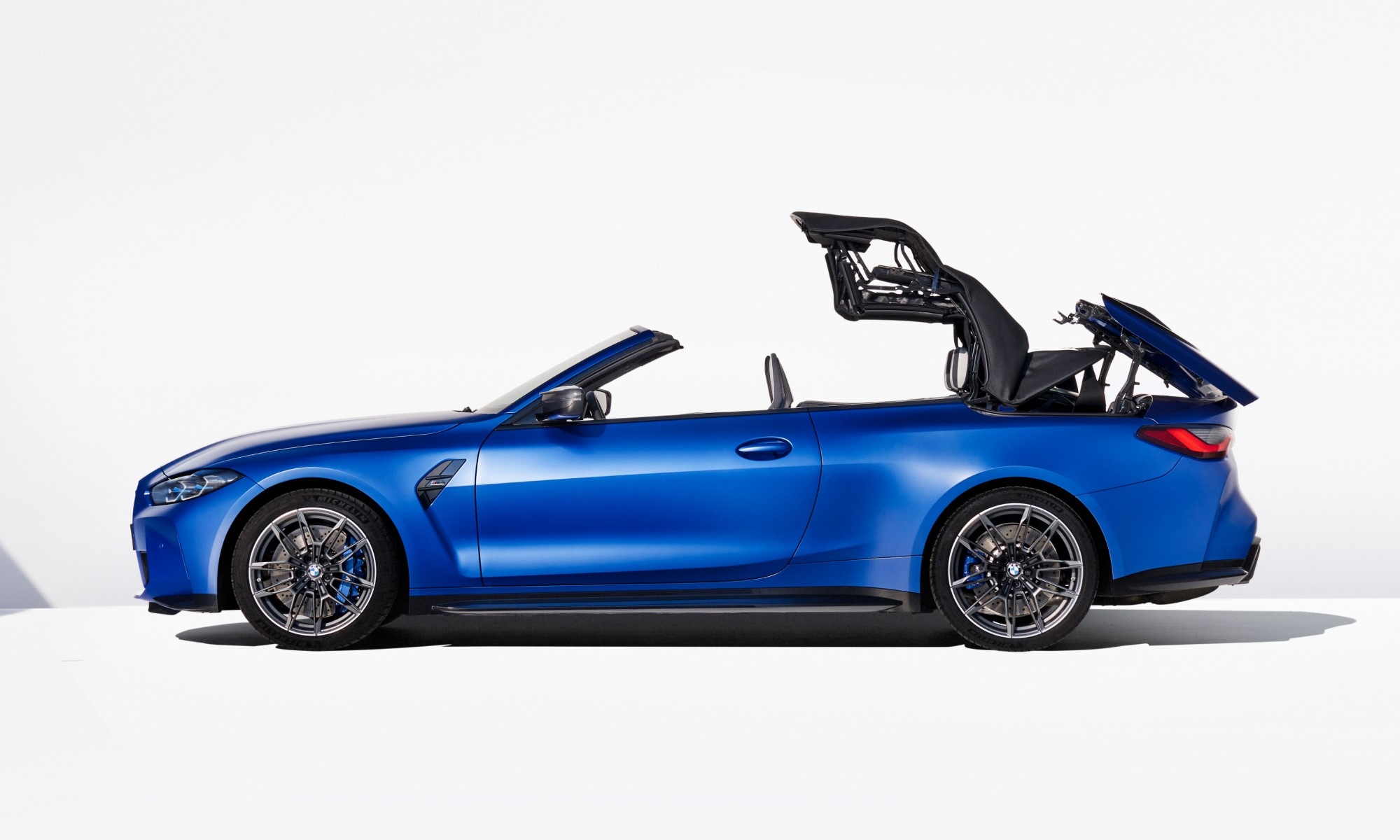 BMW M4 Competition Convertible folding roof